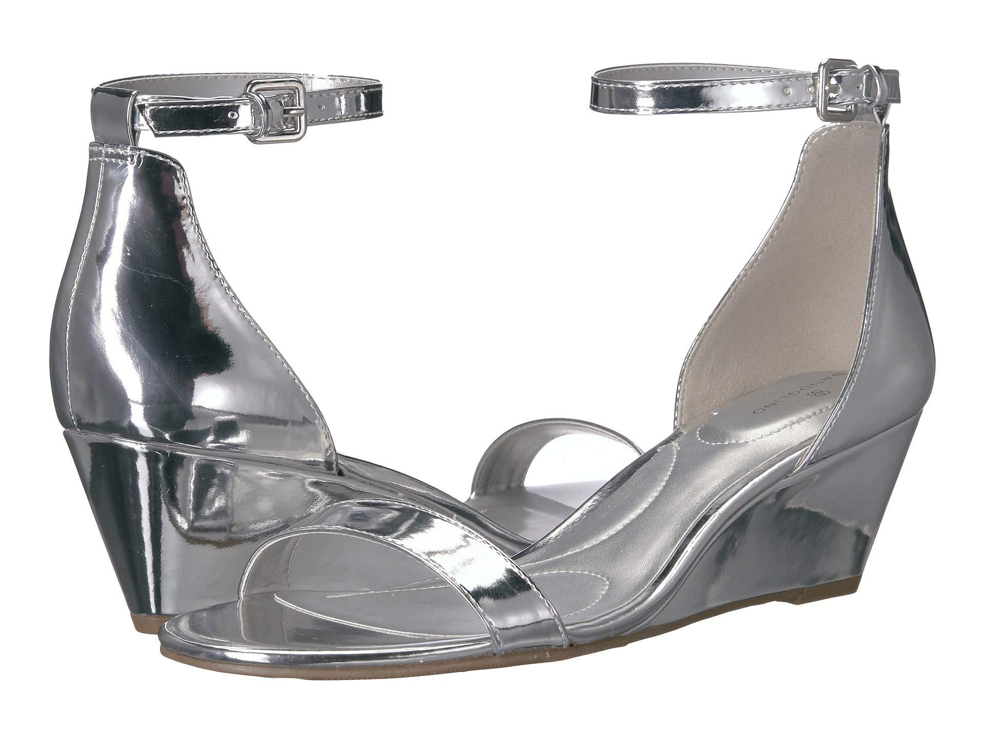 2371beffa0ad Lyst - Bandolino Omira (cork Metallic) Women s Wedge Shoes in Metallic