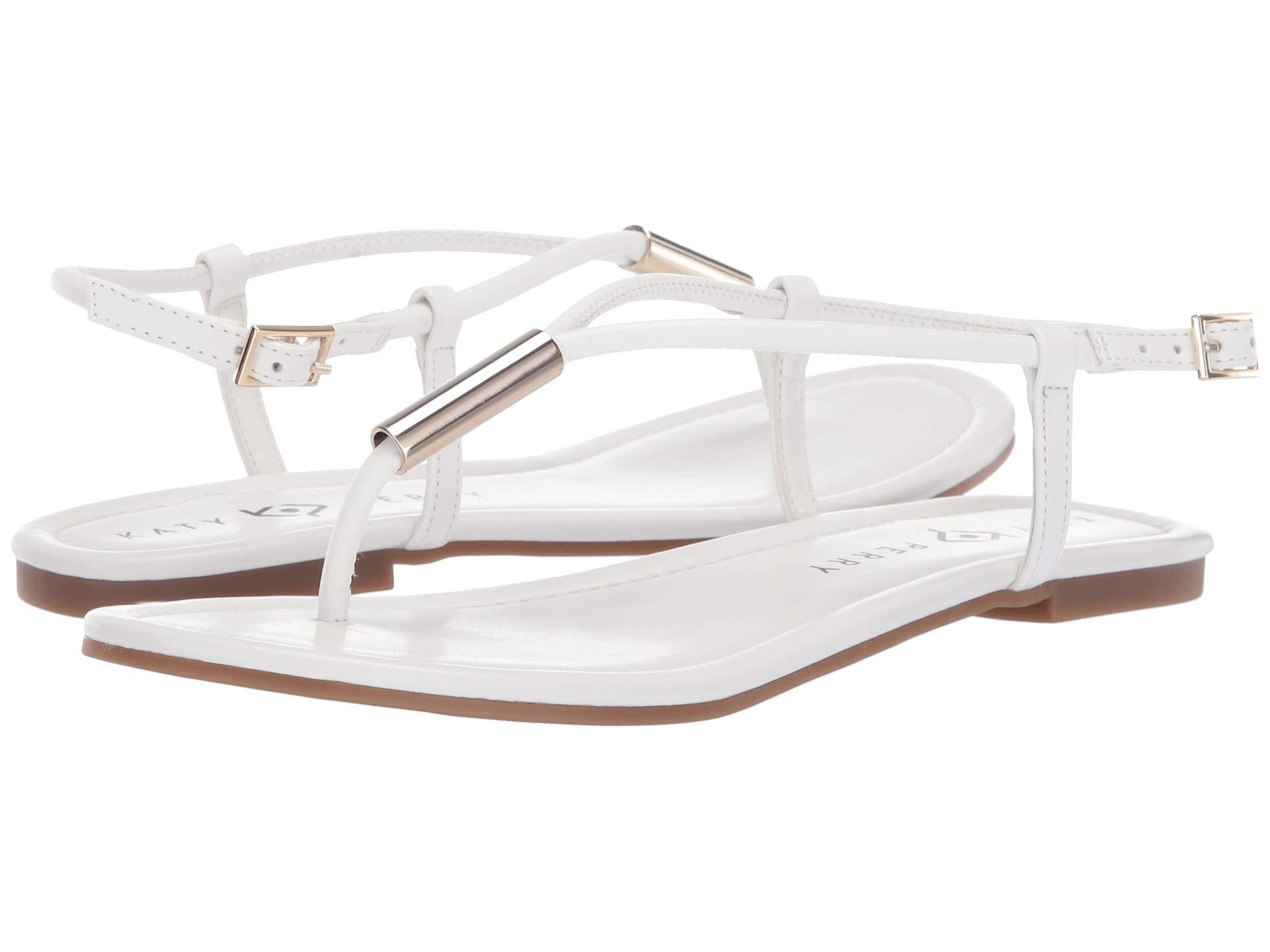 3374cfc5f8fe Lyst - Katy Perry The Jule (champagne) Women s Shoes in White