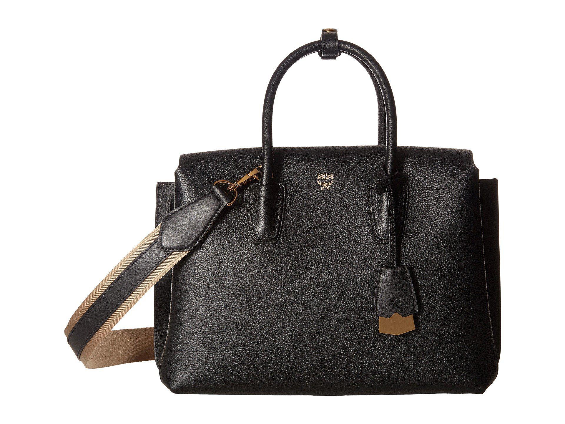 da64d53ad Lyst - MCM Milla Medium Tote (black) Handbags in Black