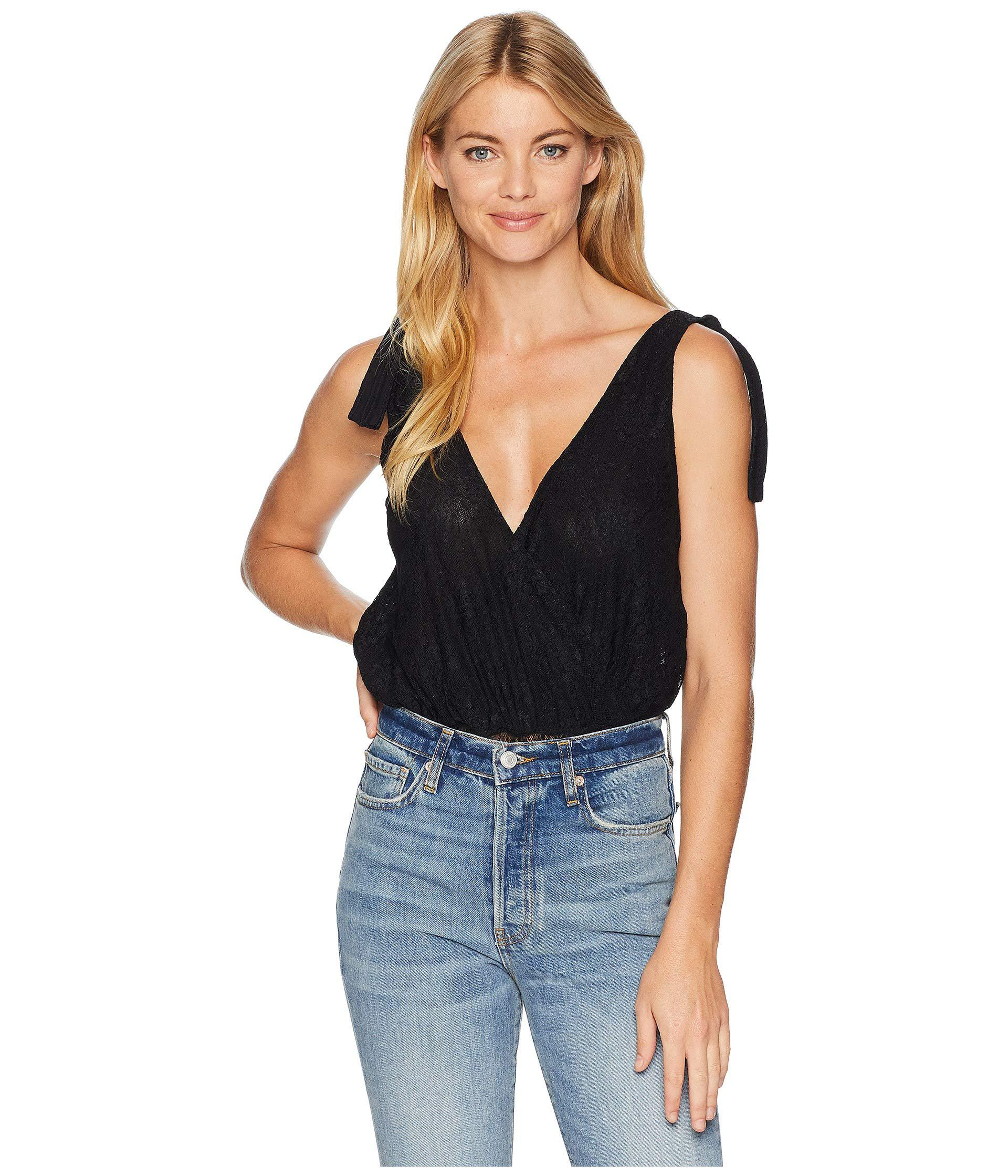3528eb171b57 Free People. Lace All Day Bodysuit (black) Women s Jumpsuit   Rompers One  Piece