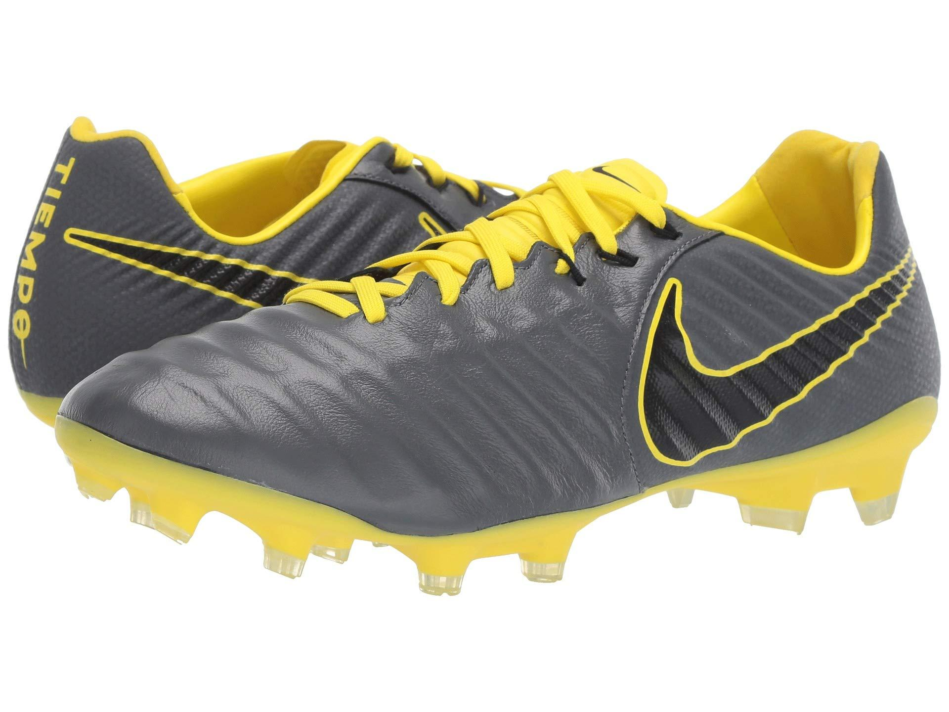 d41d02281 Nike. Legend 7 Pro Fg (dark Grey black opti Yellow) Men s Soccer Shoes