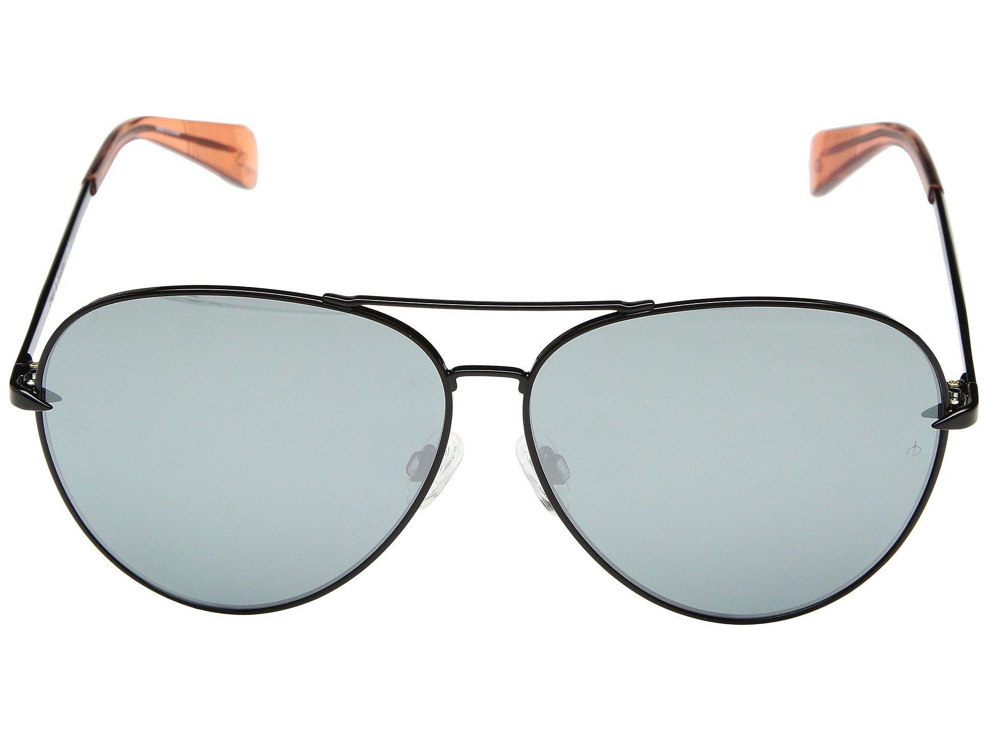 bb98e1191a9 Rag   Bone - Rnb1006 s (black grey) Fashion Sunglasses - Lyst. View  fullscreen