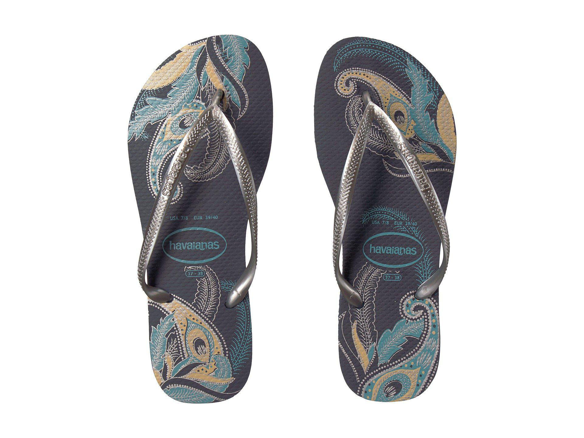 1721f03e8 Lyst - Havaianas Slim Organic Flip Flop Sandals