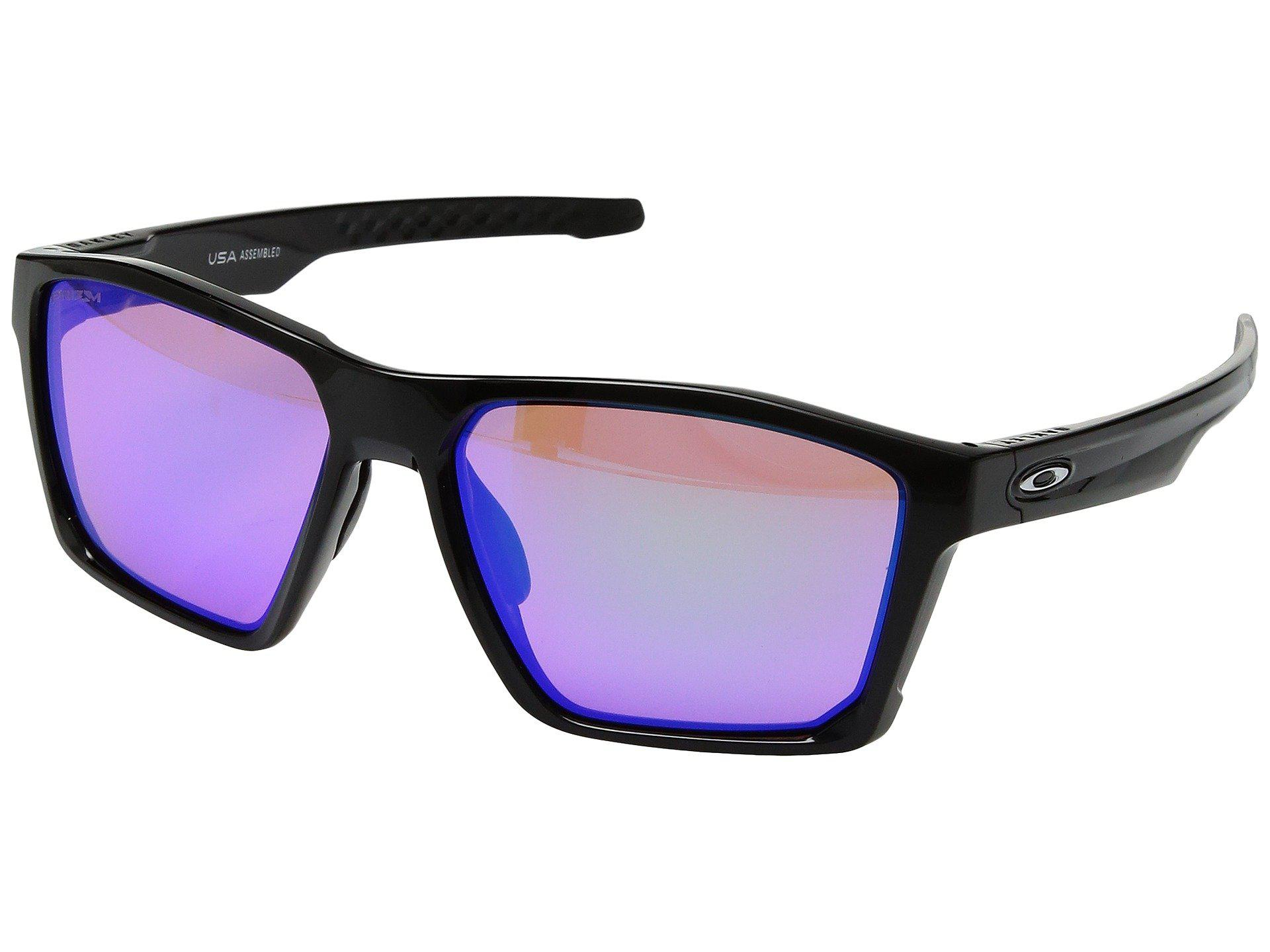 0d55607355 Oakley. Men s Targetline (polished Black W  Prizm Golf) Athletic  Performance Sport Sunglasses