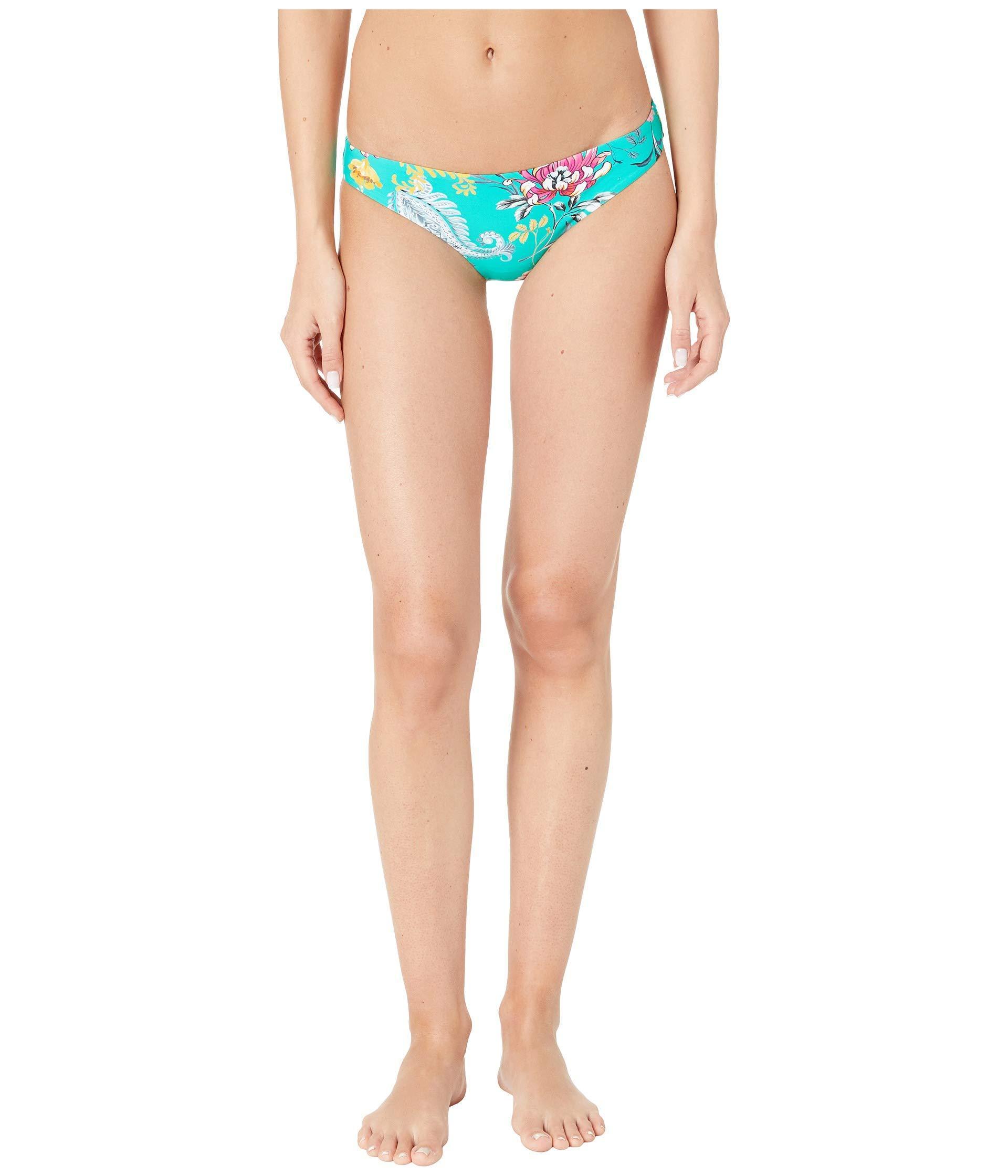 c305c61f2d322 Seafolly. Blue Water Garden Hipster Bottoms (evergreen) Women s Swimwear