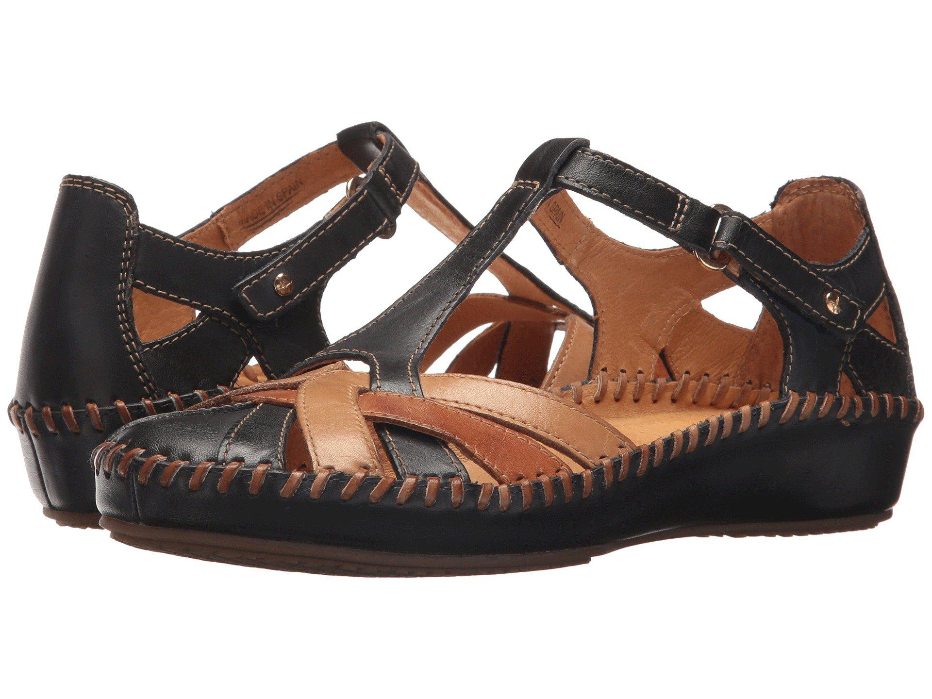 61a9edffe Pikolinos Puerto Vallarta 655-0732c5 (navy Blue) Women's Sandals in ...