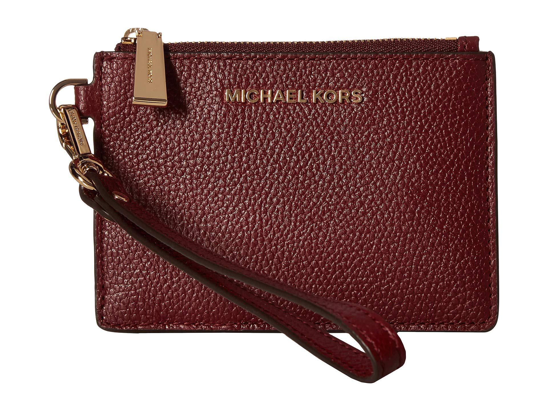 7a7df1c0a30ab7 Lyst - Michael Michael Kors Small Coin Purse (acorn) Coin Purse in Red