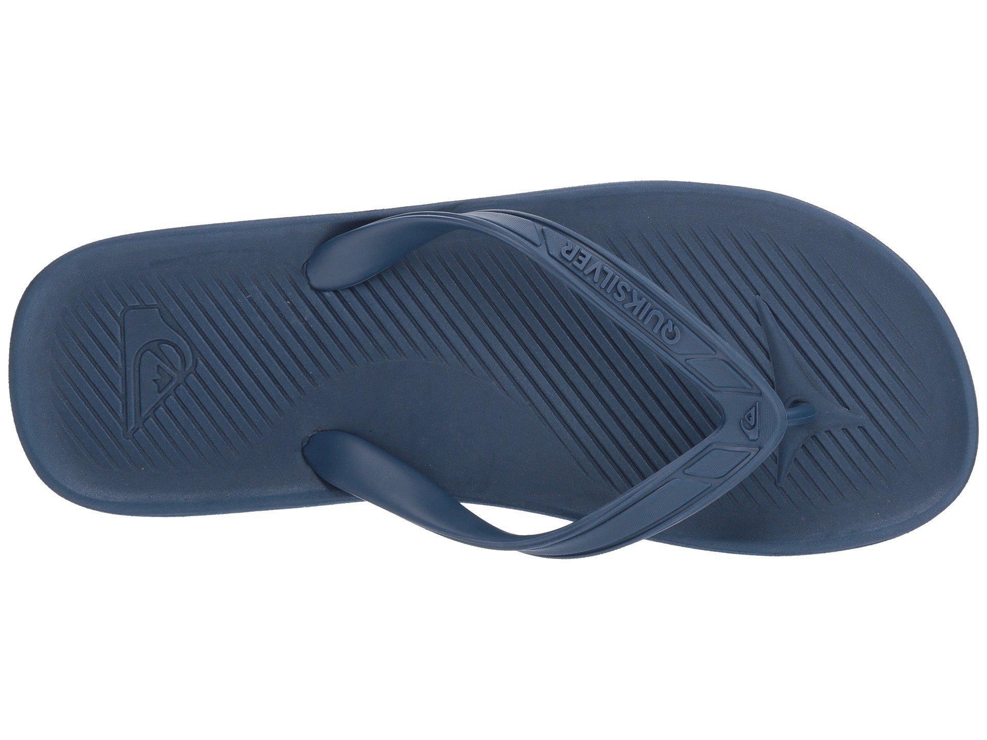 Quiksilver - Blue Haleiwa Ii (black red green) Men s Sandals for Men. View  fullscreen a36f3d58b0