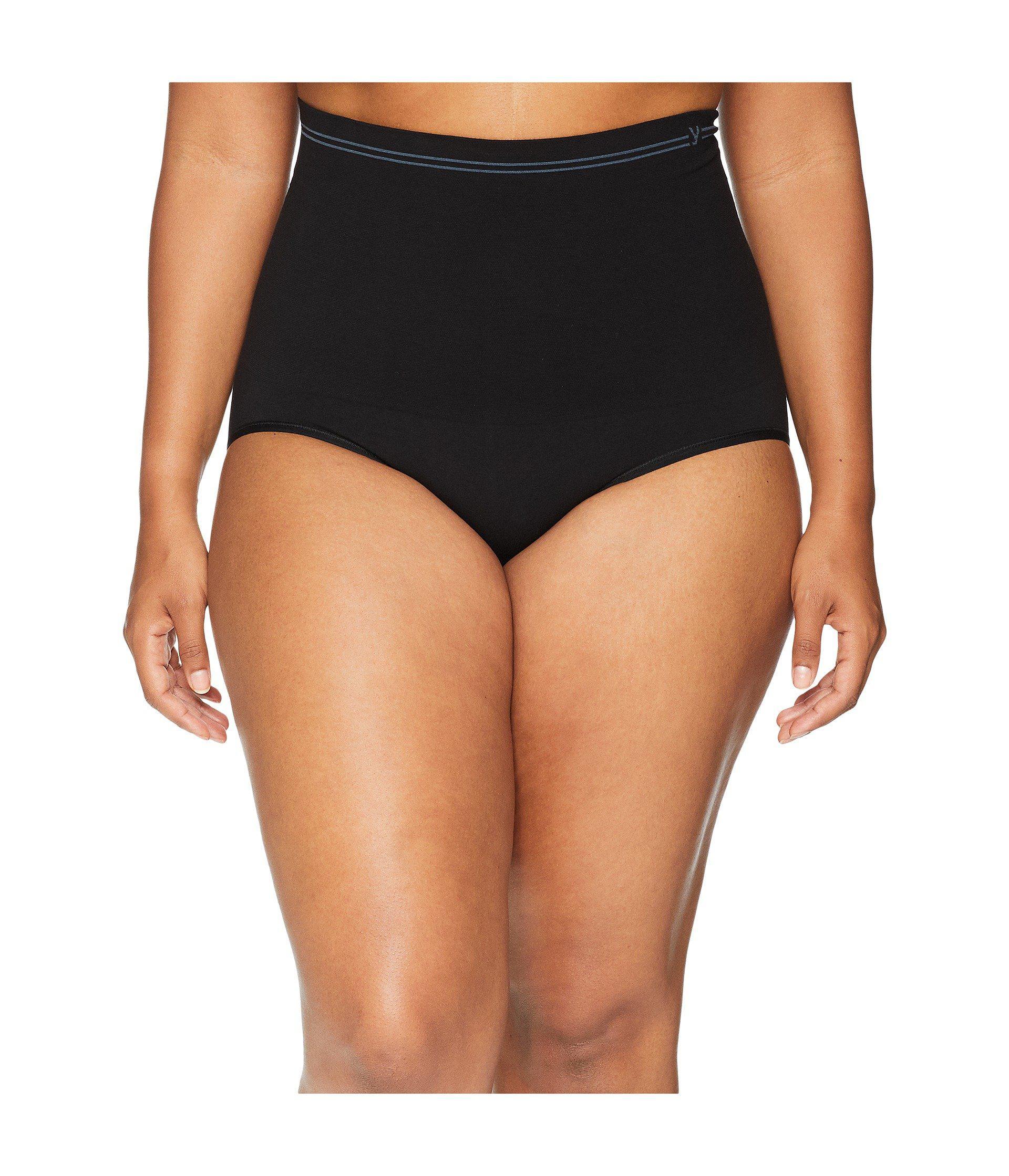 6a2e5f13d15c Yummie. Plus Size Cotton Seamless Brief (black) Women's Underwear