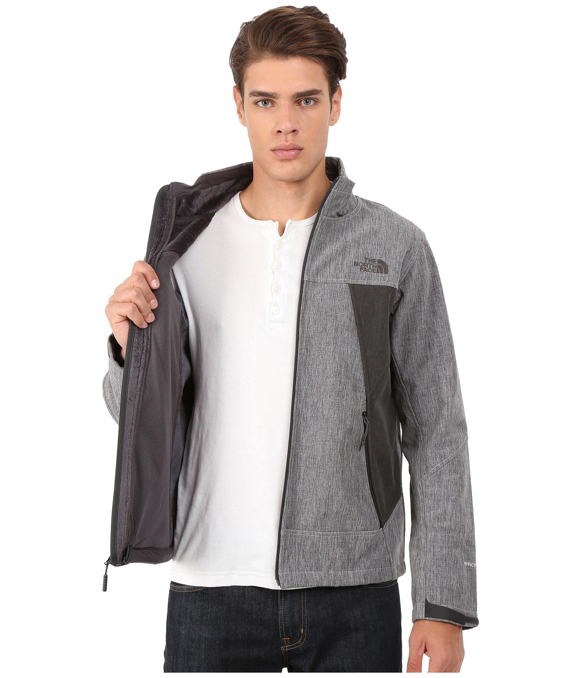 c2d1d0465 The North Face Apex Chromium Thermal Jacket (high Rise Grey Heather ...