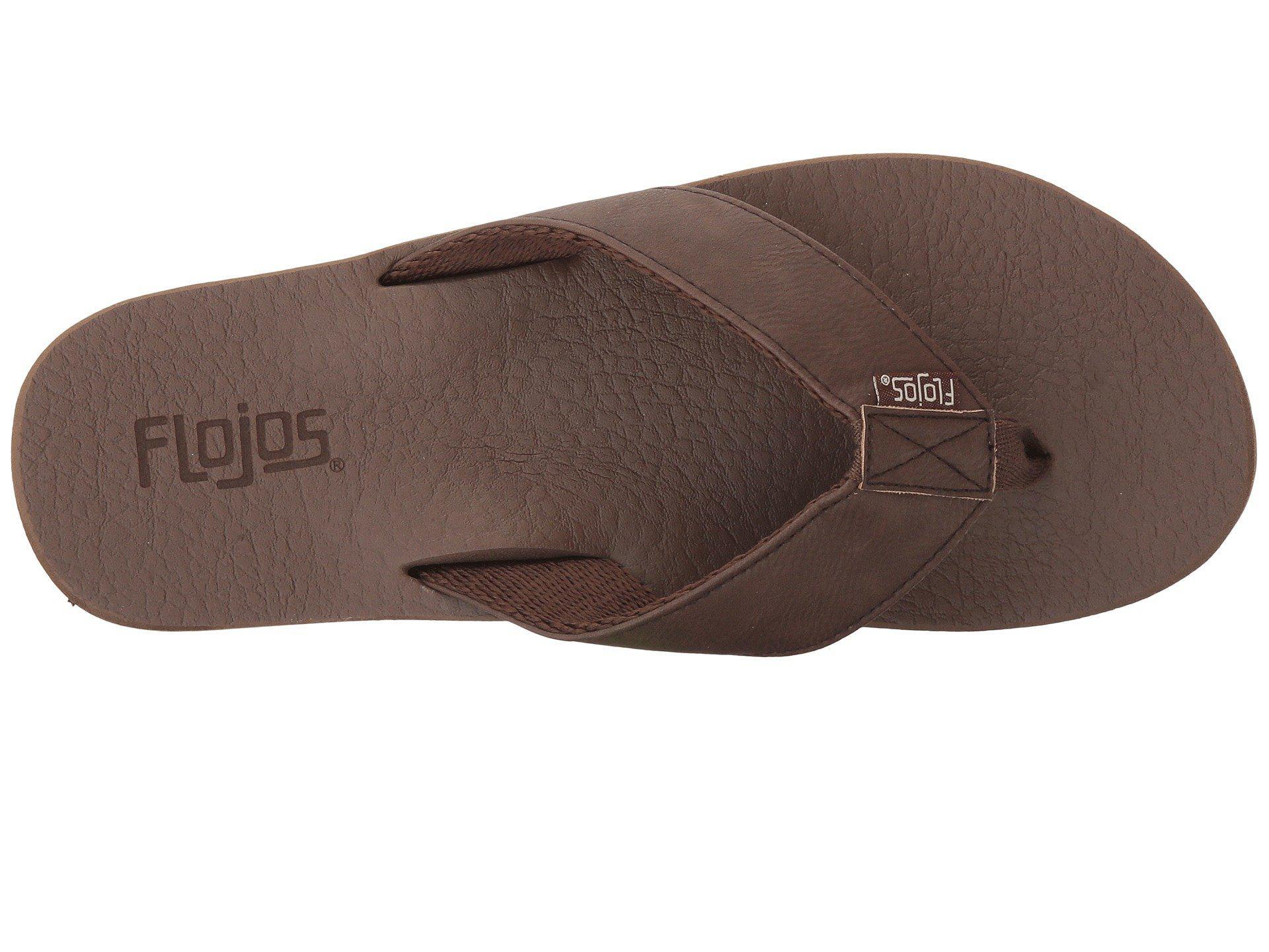 29f7c1ac144ec7 Lyst - Flojos Chase (black) Men s Sandals in Brown for Men - Save ...