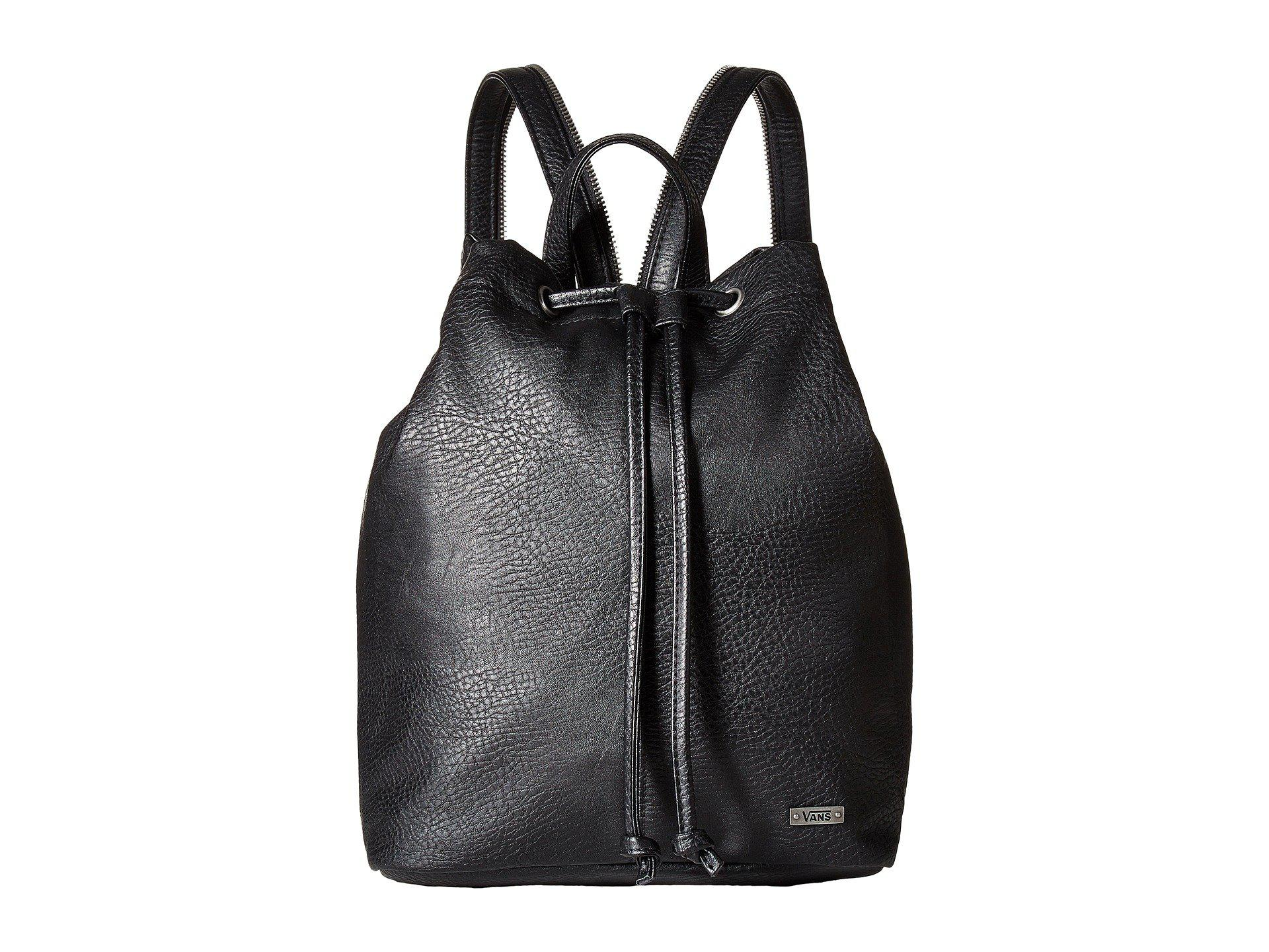 e7d21d440a6 Lyst - Vans Mili Cinch Bag in Black