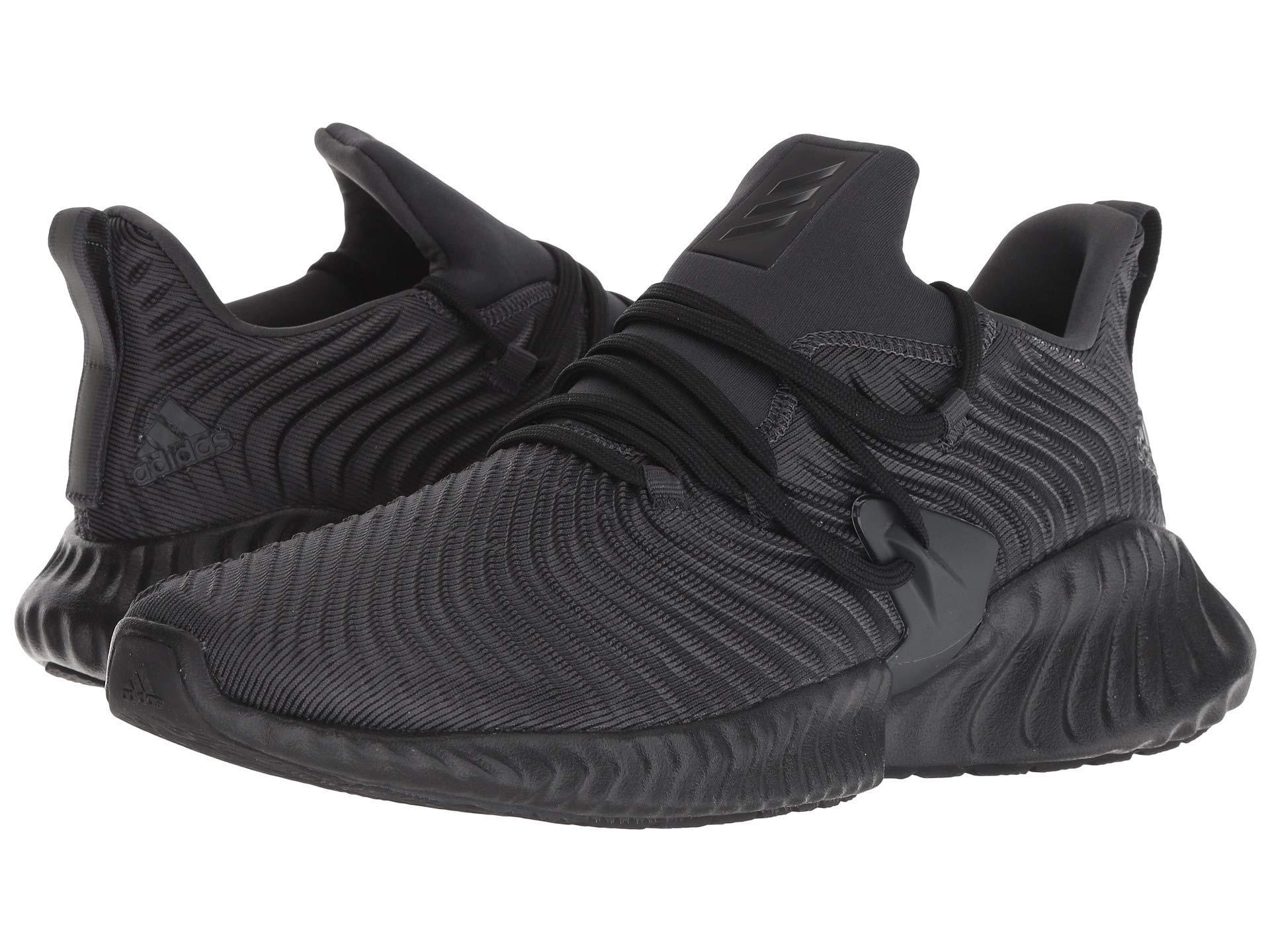 2d404a6adbb56 adidas Originals. Black Alphabounce Instinct (legend Marine legend  Marine shock Cyan) Men s Running Shoes