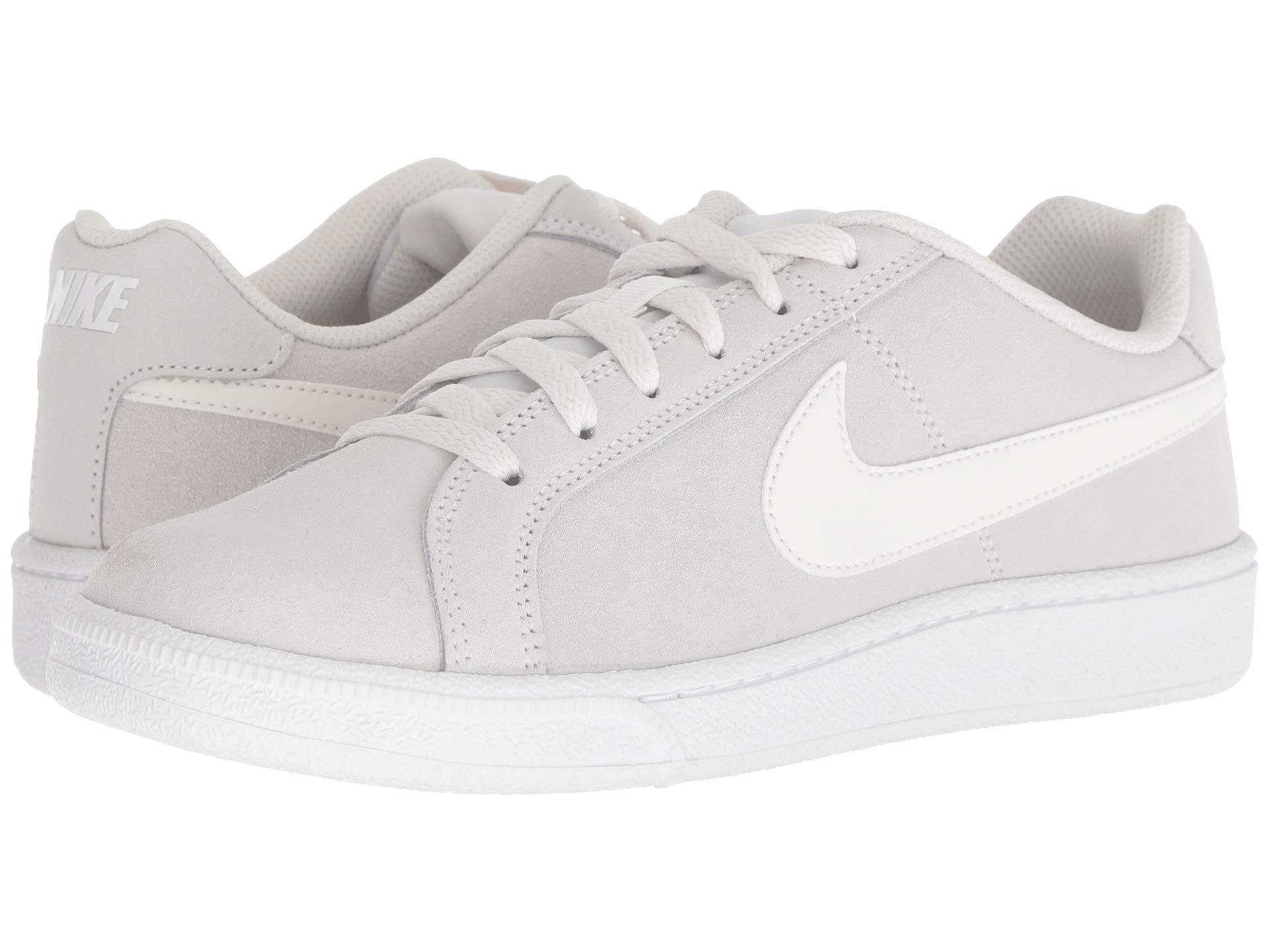 e5bf2681516ec7 Lyst - Nike Court Royale Suede (black black thunder Grey) Women s ...