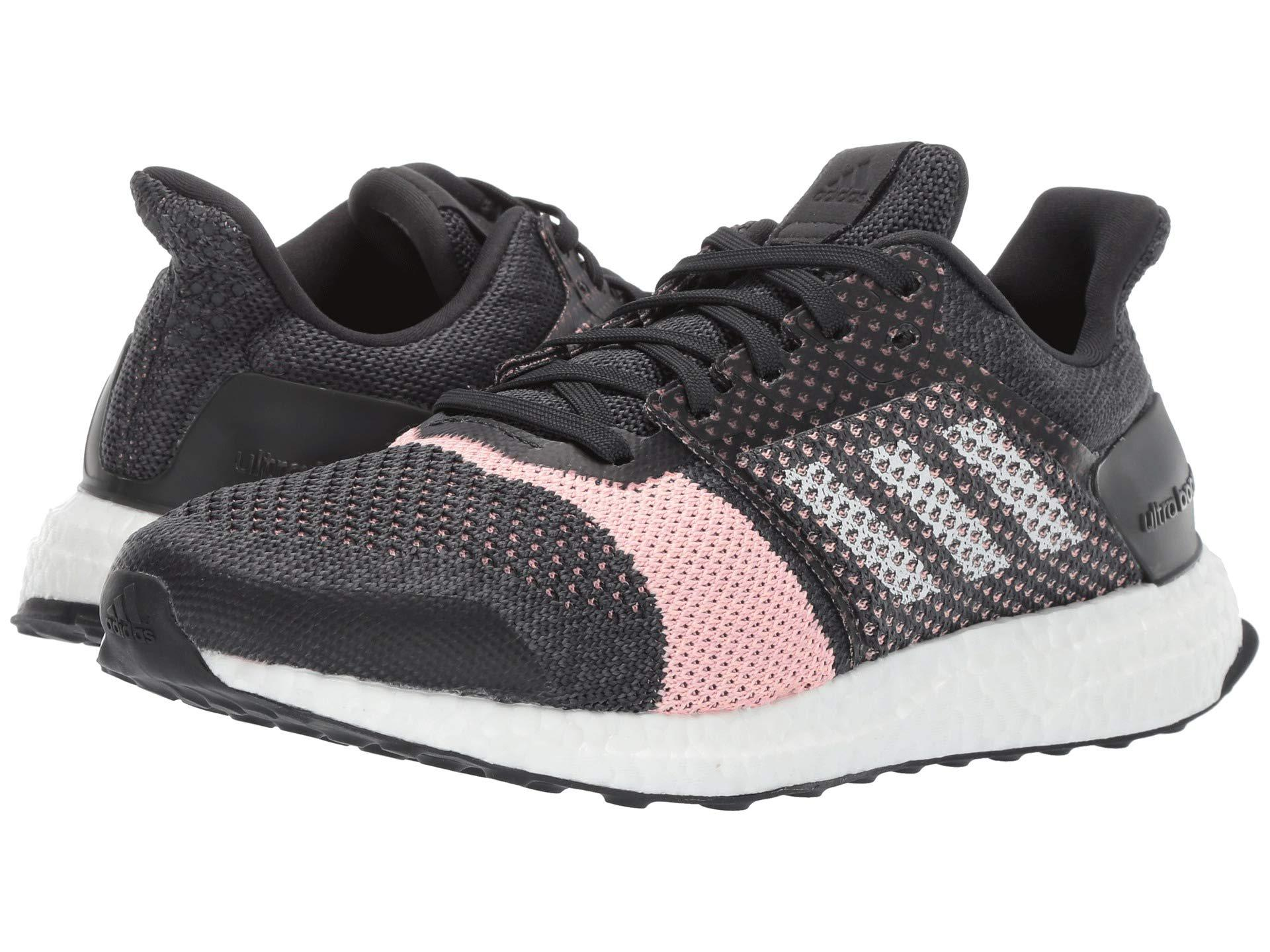 adidas Originals. Metallic Ultraboost St (carbon white grey) Women s  Running Shoes f983bfd952f