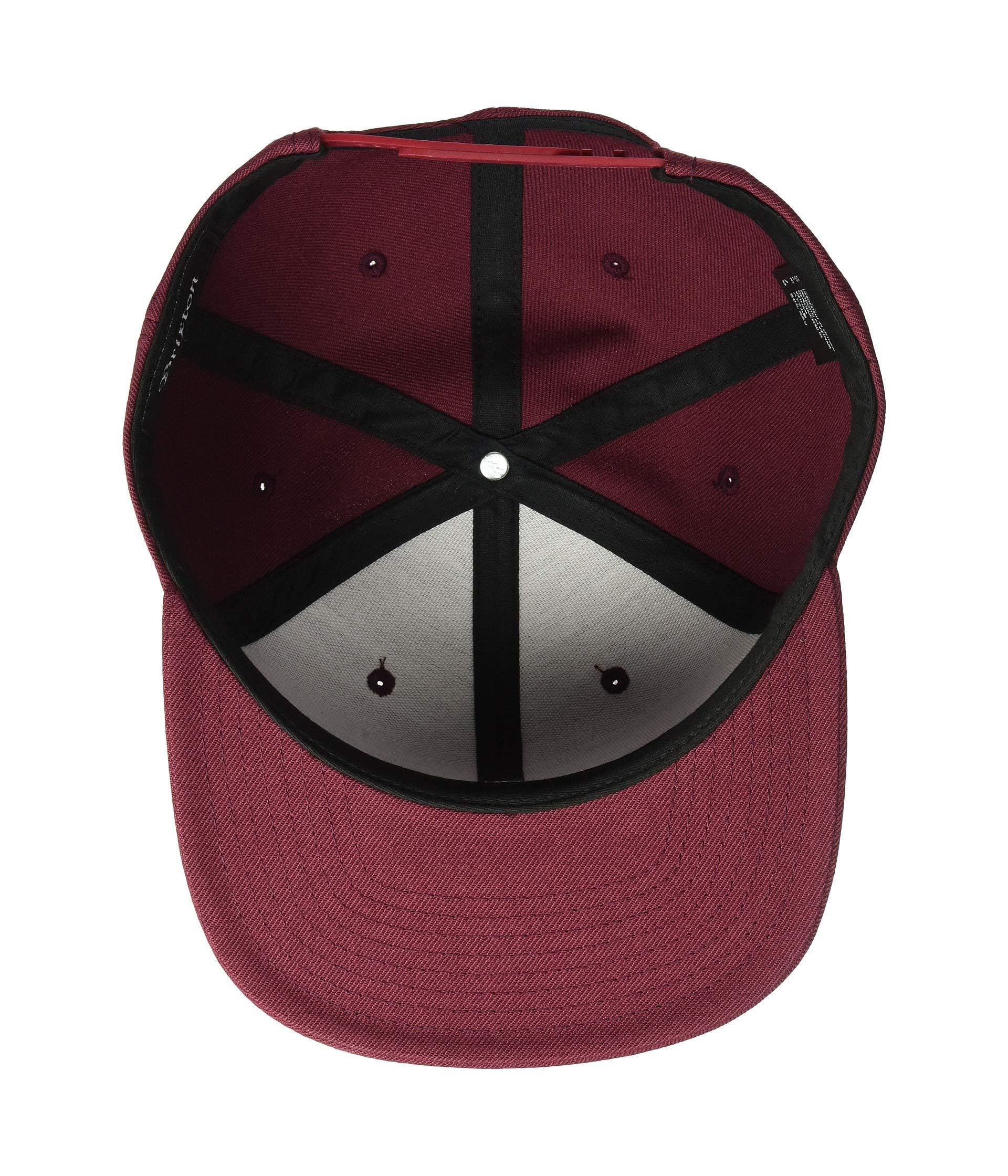 2d6ba526569 Brixton - Red Palmer Ii Mp Snapback (burgundy) Caps for Men - Lyst. View  fullscreen