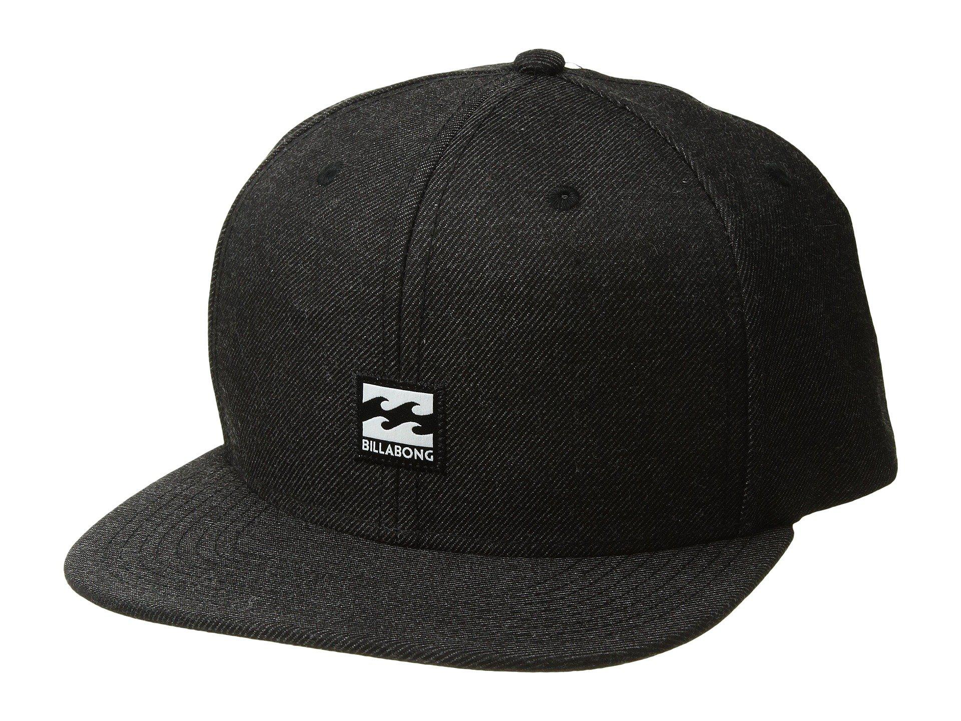 7c2ae6c7a15 ... netherlands lyst billabong primary snapback hat black heather 2 caps in  de124 0f679