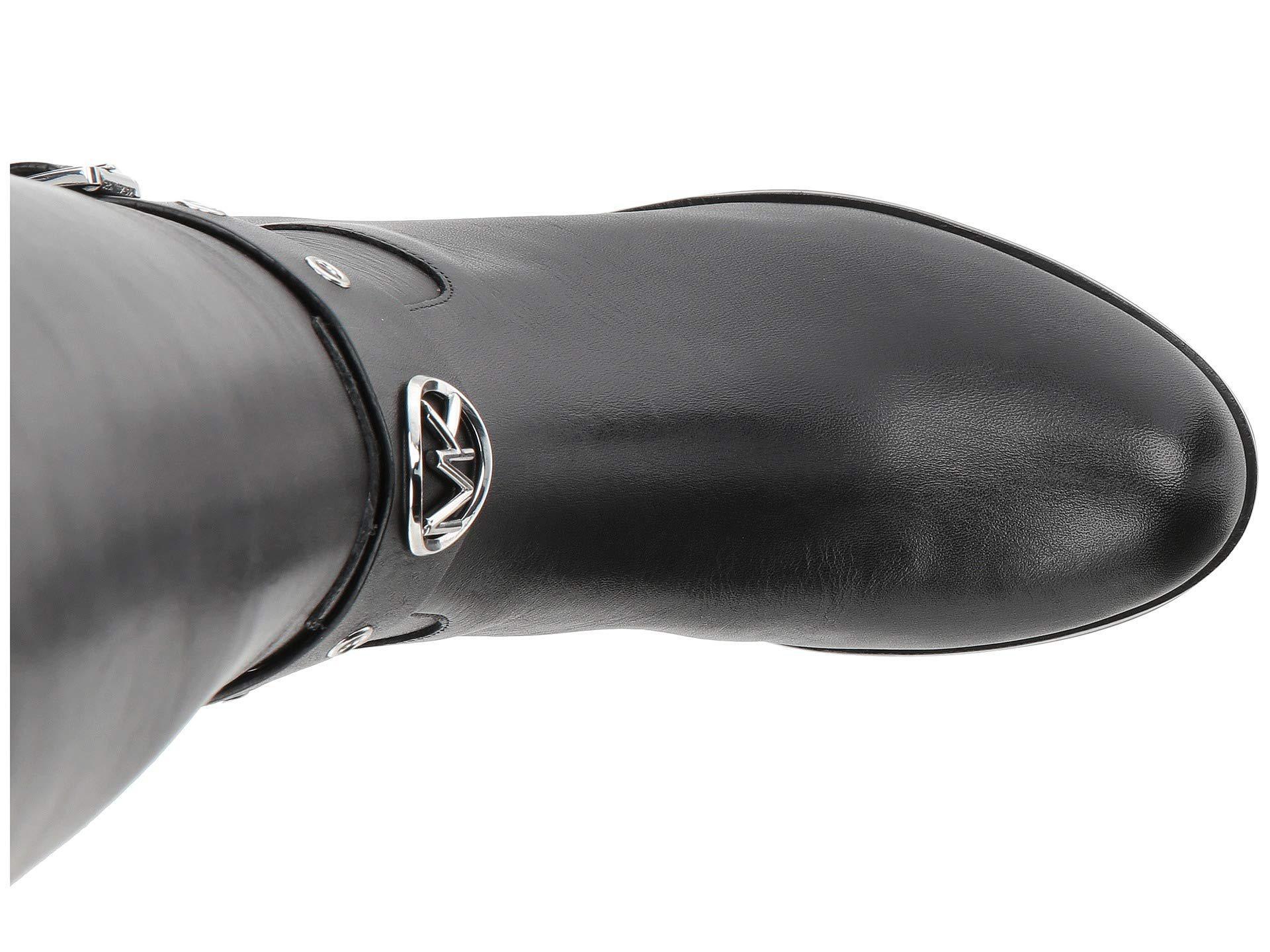 63de9d9fe23f MICHAEL Michael Kors - Heather Boot Wide Calf (black Vachetta wide Shaft)  Women s. View fullscreen