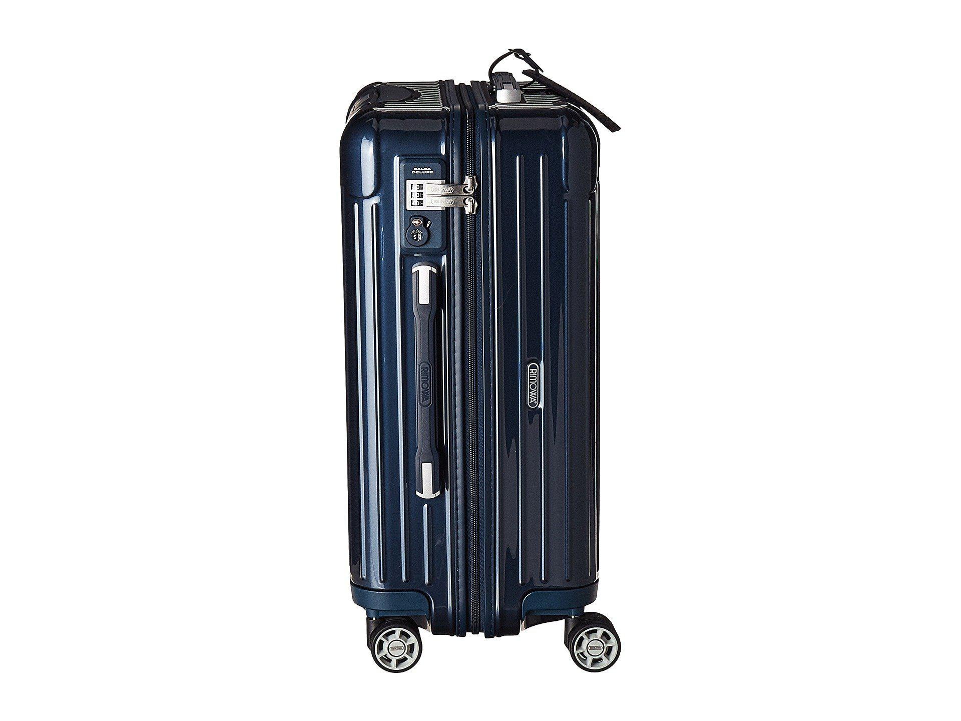Rimowa Salsa Deluxe   Cabin Multiwheel® 53cm In Blue For Men | Lyst