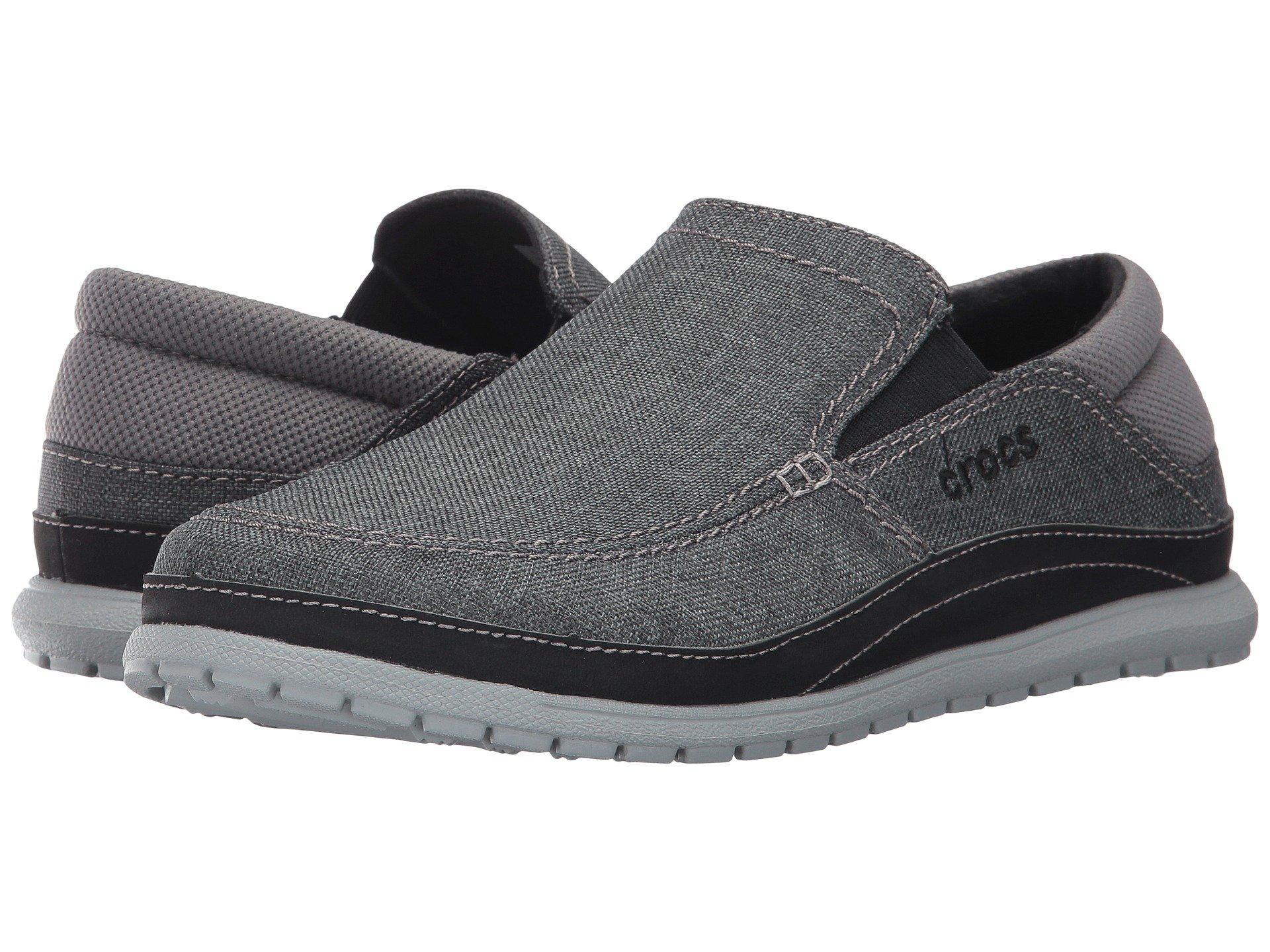 8cee57371d2401 Crocs™. Gray Santa Cruz Playa Slip-on (black black) Men s Slip On Shoes