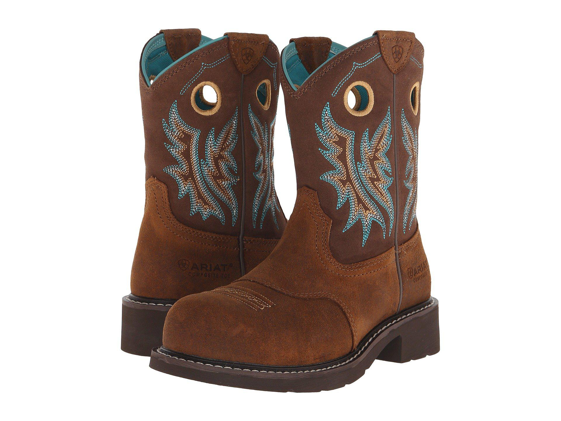 10fb47f0f41 Lyst - Ariat Fatbaby Cowgirl Composite Toe in Brown for Men