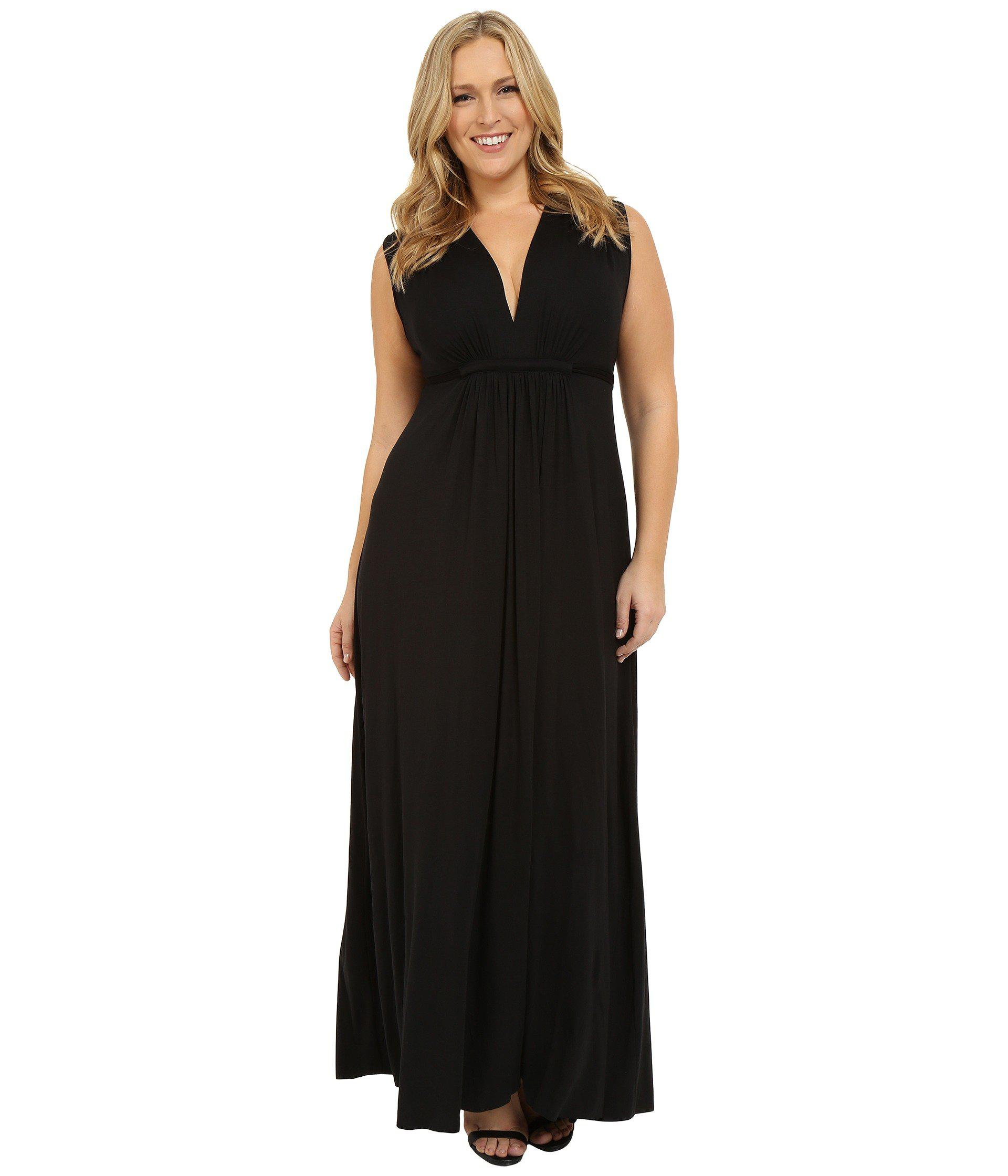 Lyst - Rachel Pally Plus Size Long Sleeveless Caftan (black) Women s ... 81a82c4ca