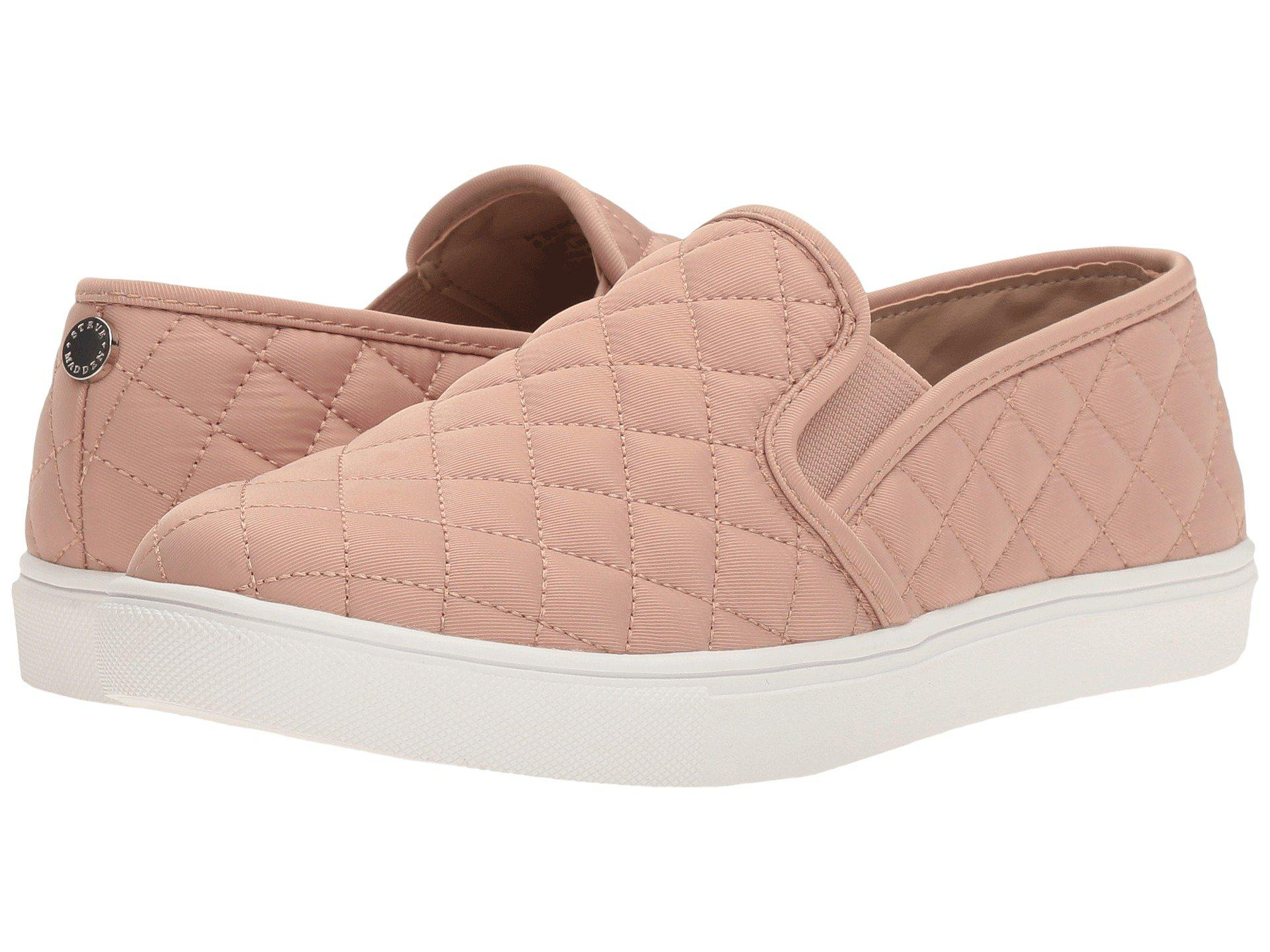 2b90974932b Lyst - Steve Madden Ecntrcqt Sneaker (blush) Women s Slip On Shoes ...