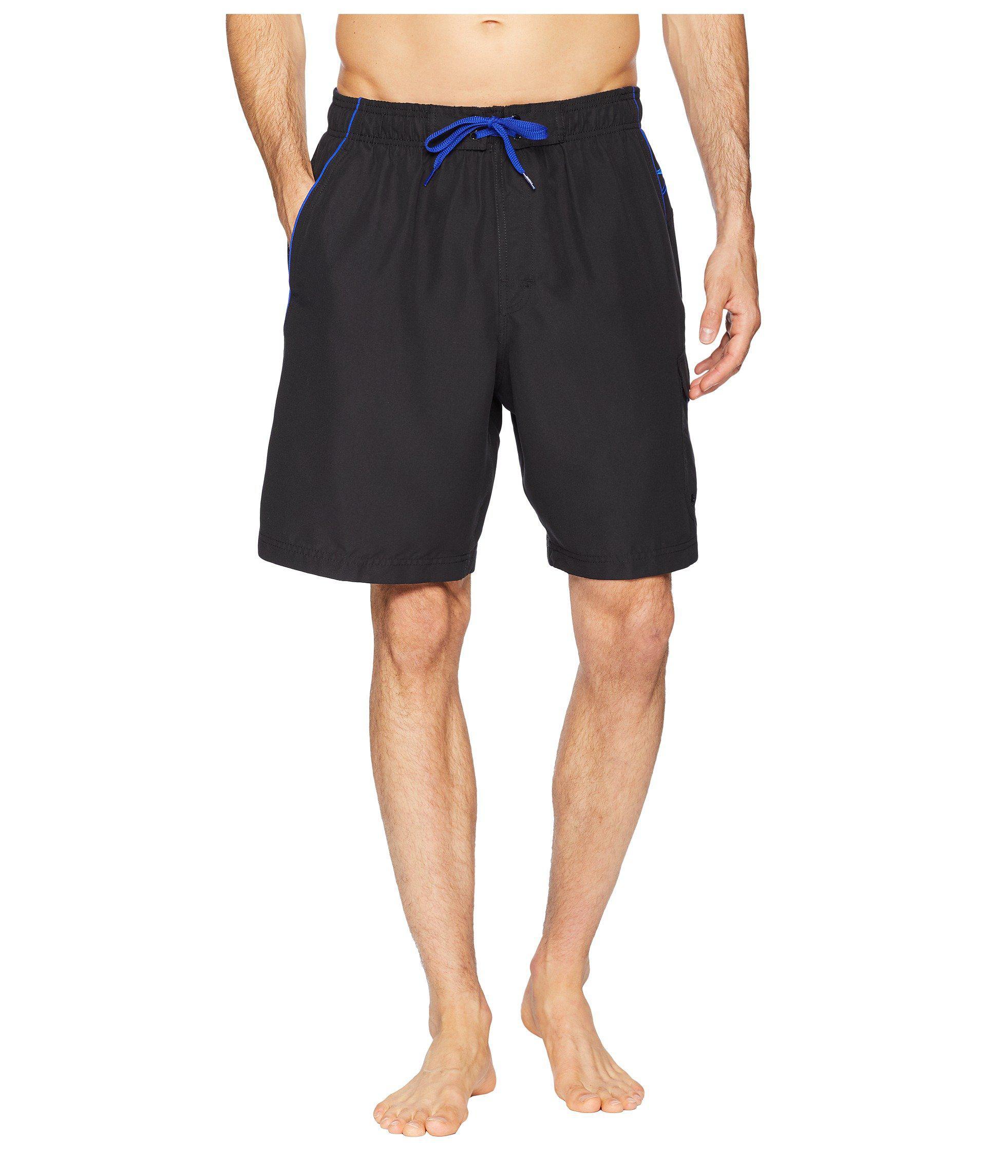 237cc53224 Speedo Marina Volley Swim Trunk (grey/blue) Men's Swimwear in Blue ...