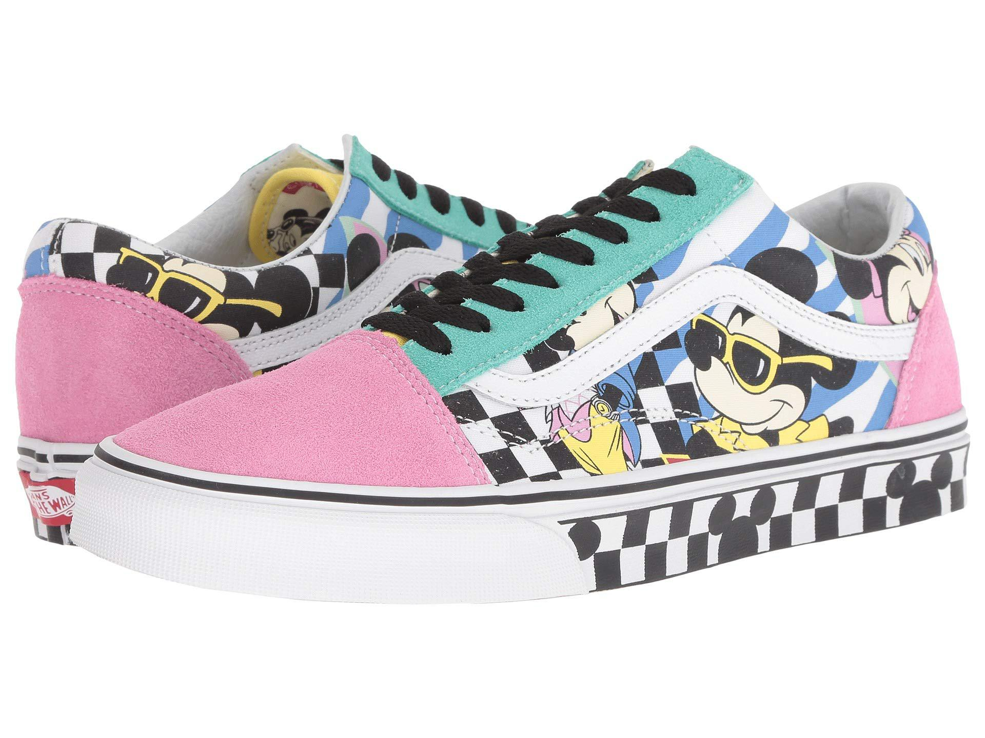 Lyst - Vans Mickey s 90th Disney(r) Old Skool ((disney) Mickey Mouse ... fb0ac8155