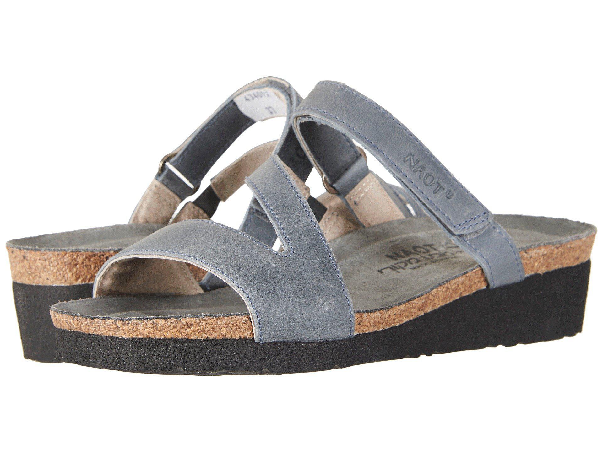 55907ccd420e76 Lyst - Naot Gabriela (oily Coal Nubuck) Women s Shoes in Gray