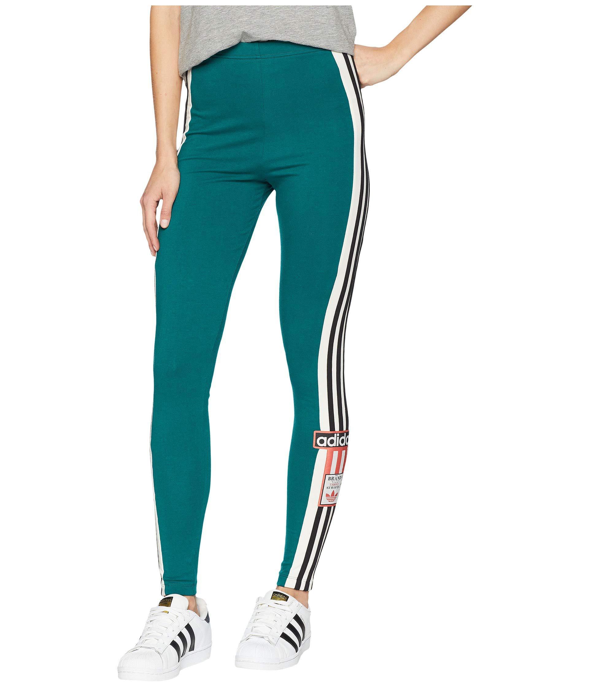 d179a1b9a82 adidas Originals Adibreak Leggings (noble Green) Women's Casual ...