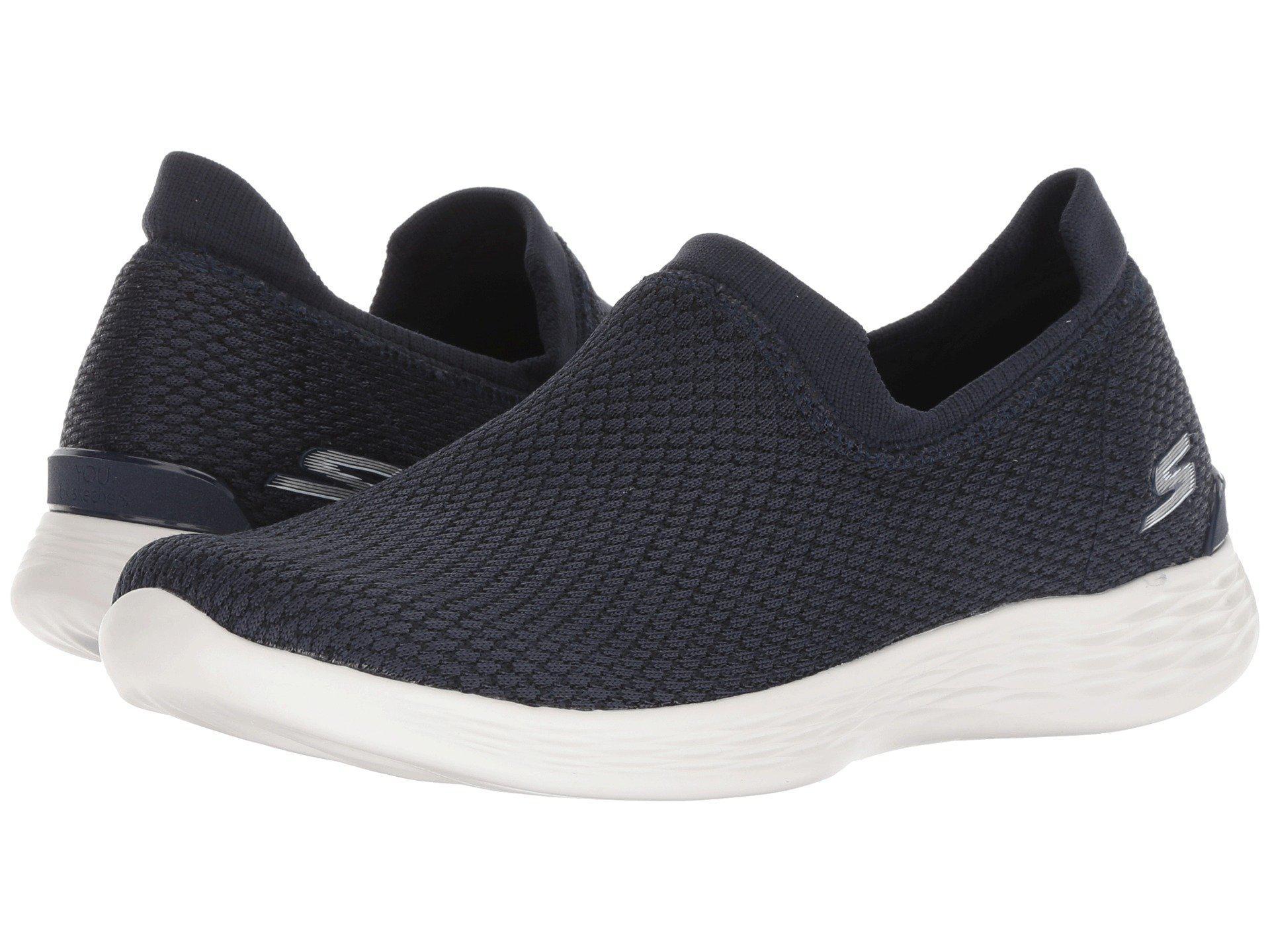 99366e182a52 Lyst - Skechers You Define - 15822 (navy) Women s Slip On Shoes in Blue