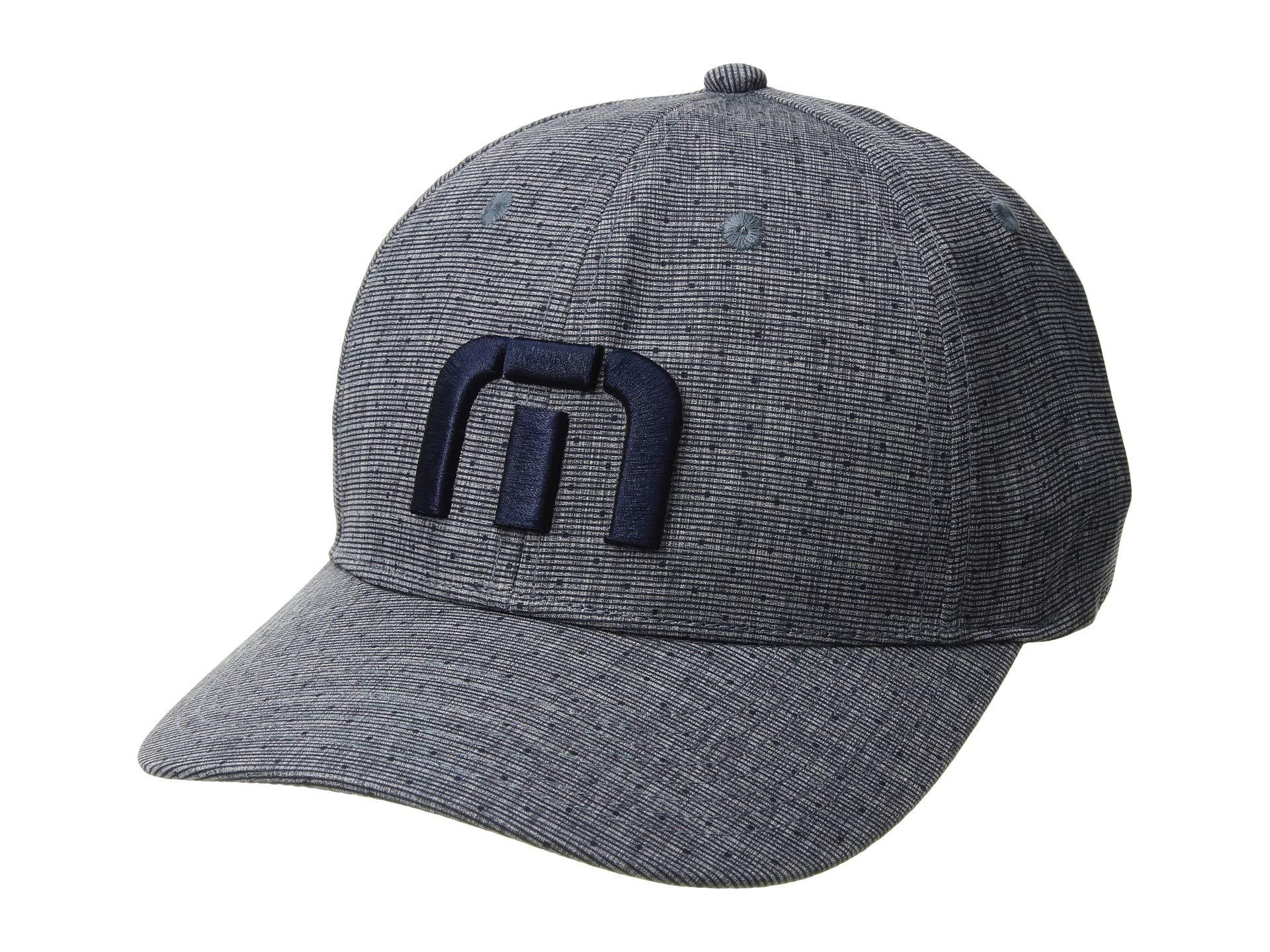 timeless design e988d 96f4b ... where can i buy lyst travis mathew trefoil heather blue nights baseball  caps in df078 6b3cf