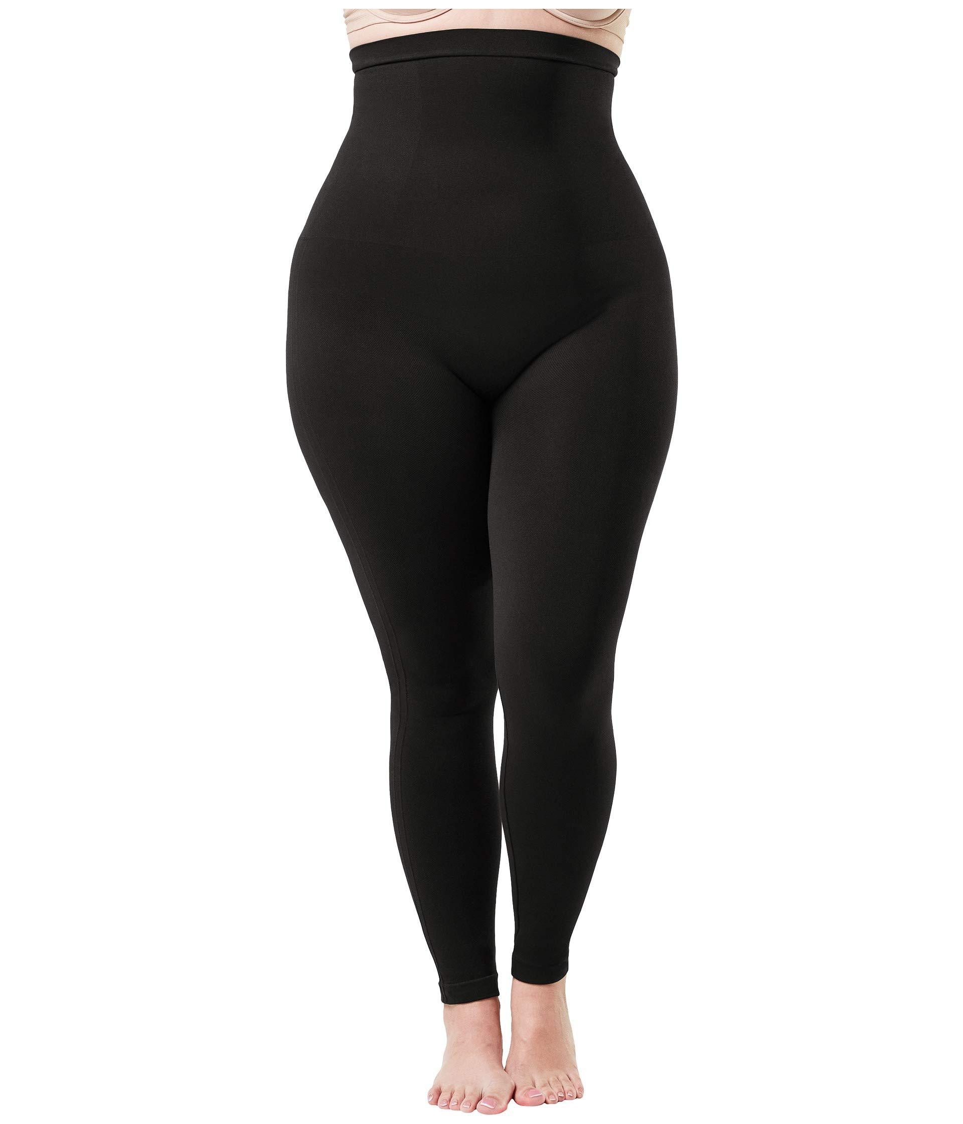 dd29cae653096 Lyst - Spanx Plus Size Look At Me Now High-waisted Seamless Leggings ...