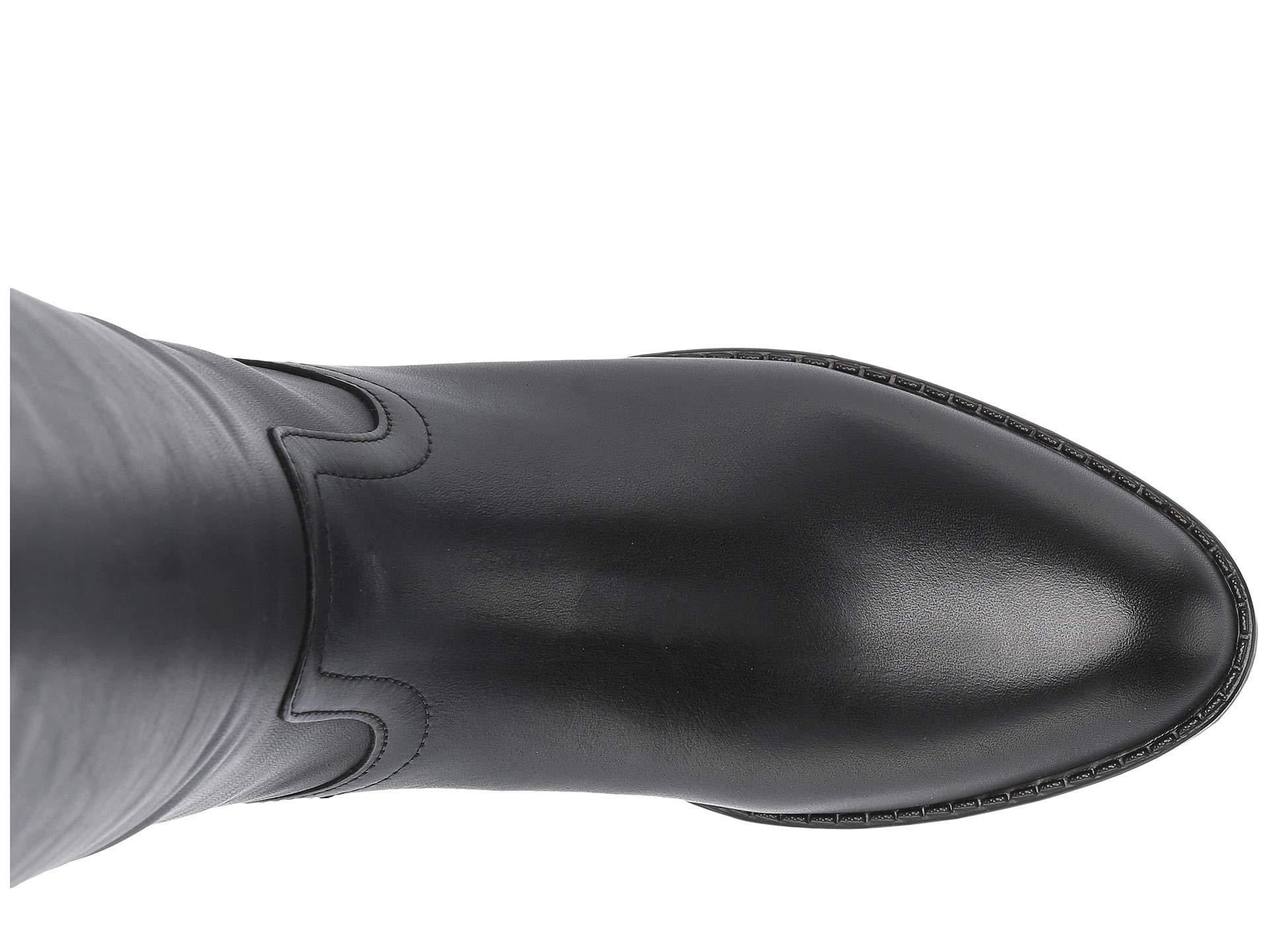 ed201c2b61f Steve Madden - Journal Riding Boots (black Leather) Women's Pull-on Boots -  Lyst