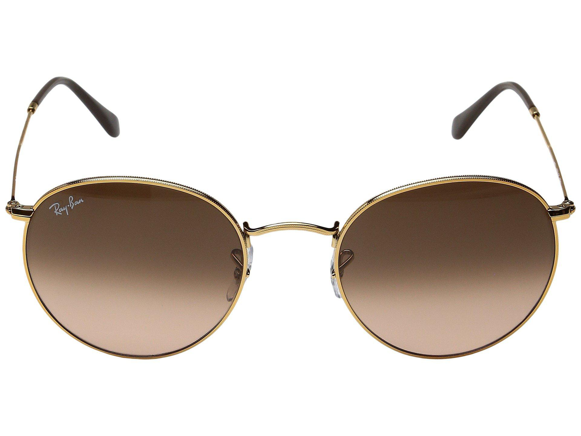 8cd8dae423 Ray-Ban - Multicolor 0rb3447 Round Metal Classic 53mm (light Bronze pink  Gradient. View fullscreen