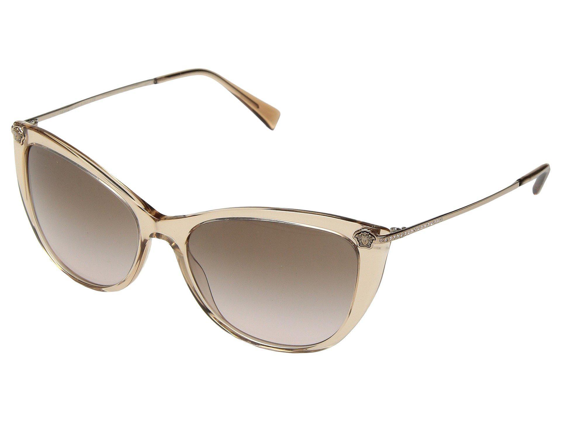 13e505c2da Versace. Women s Ve4345b (havana gradient Brown Mirror) Fashion Sunglasses