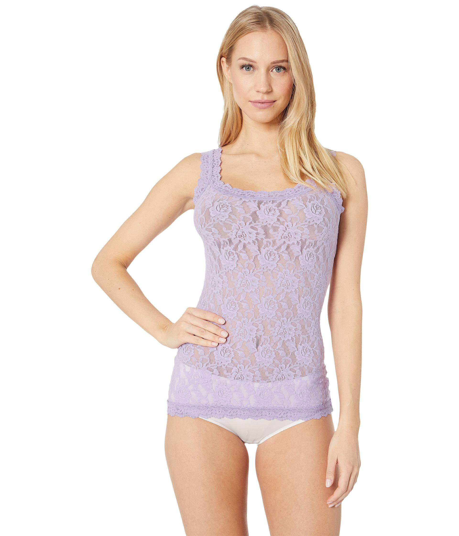 162a4109b Hanky Panky. Purple Signature Lace Unlined Cami (red) Women s Lingerie