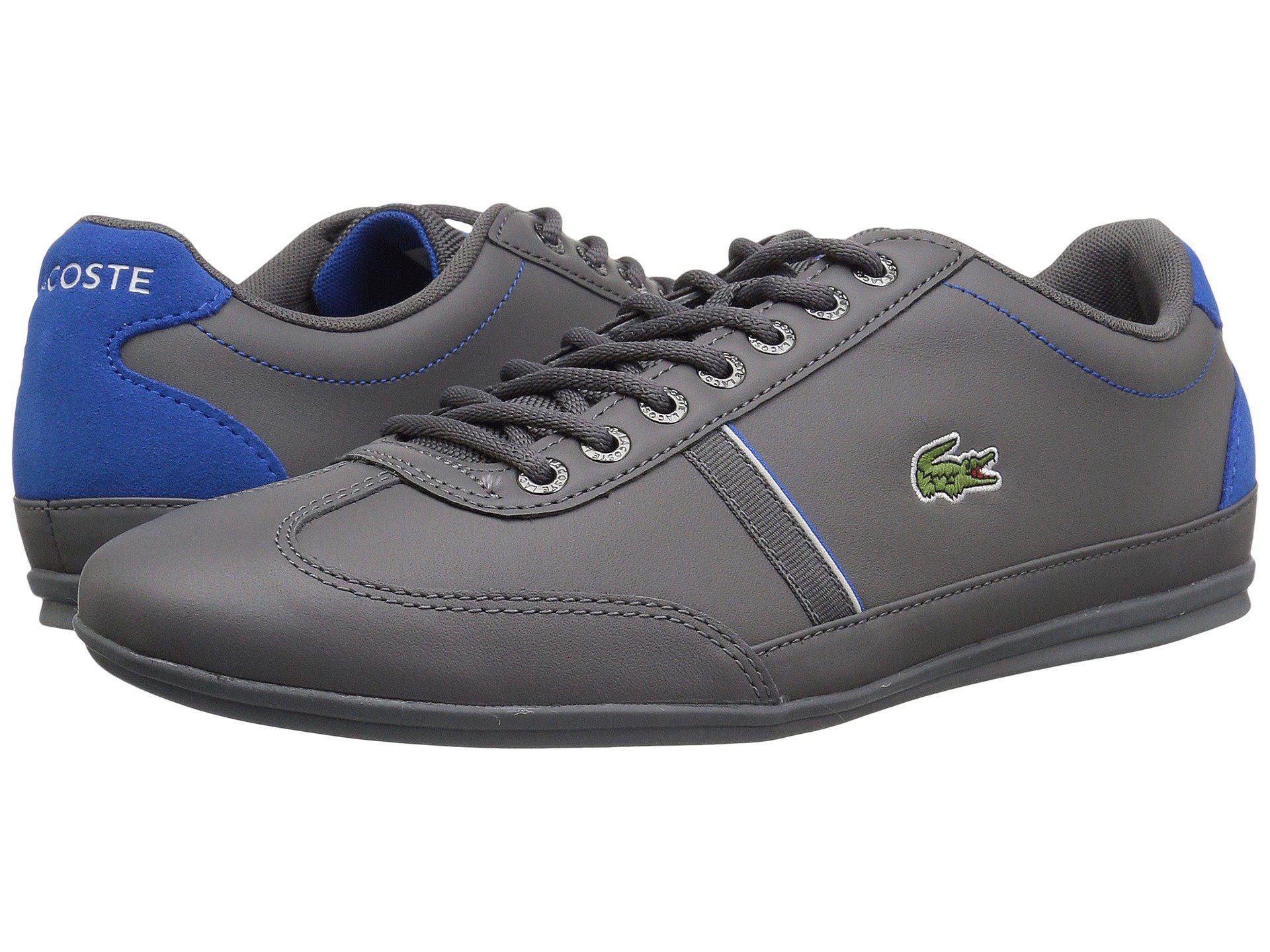 a561ca7b8aee2b Lyst - Lacoste Misano Sport 118 1 (dark Grey blue) Men s Shoes in ...