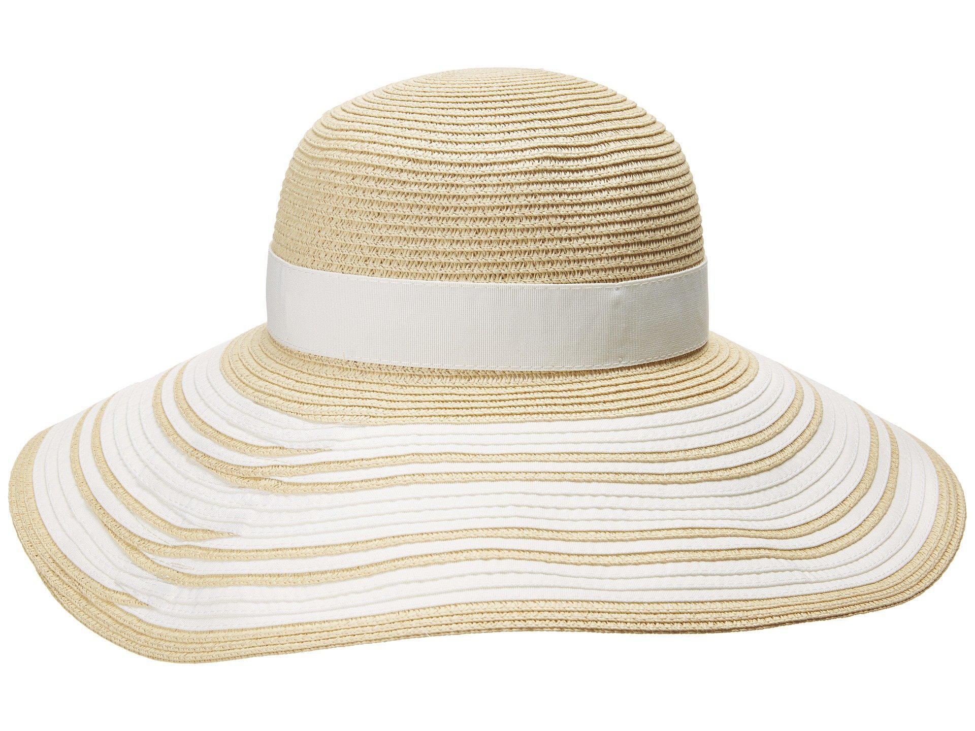 Lauren by Ralph Lauren - Packable Signature Grosgrain Sun Hat (natural cream)  Caps. View fullscreen 4486b9dce553