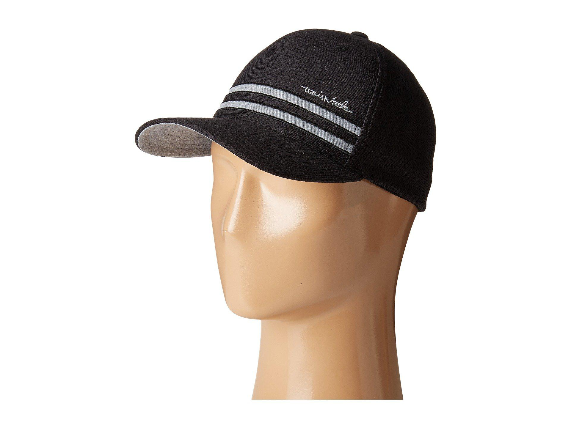 Lyst - Travis Mathew Hout (black) Caps in Black for Men bff51ec932bd