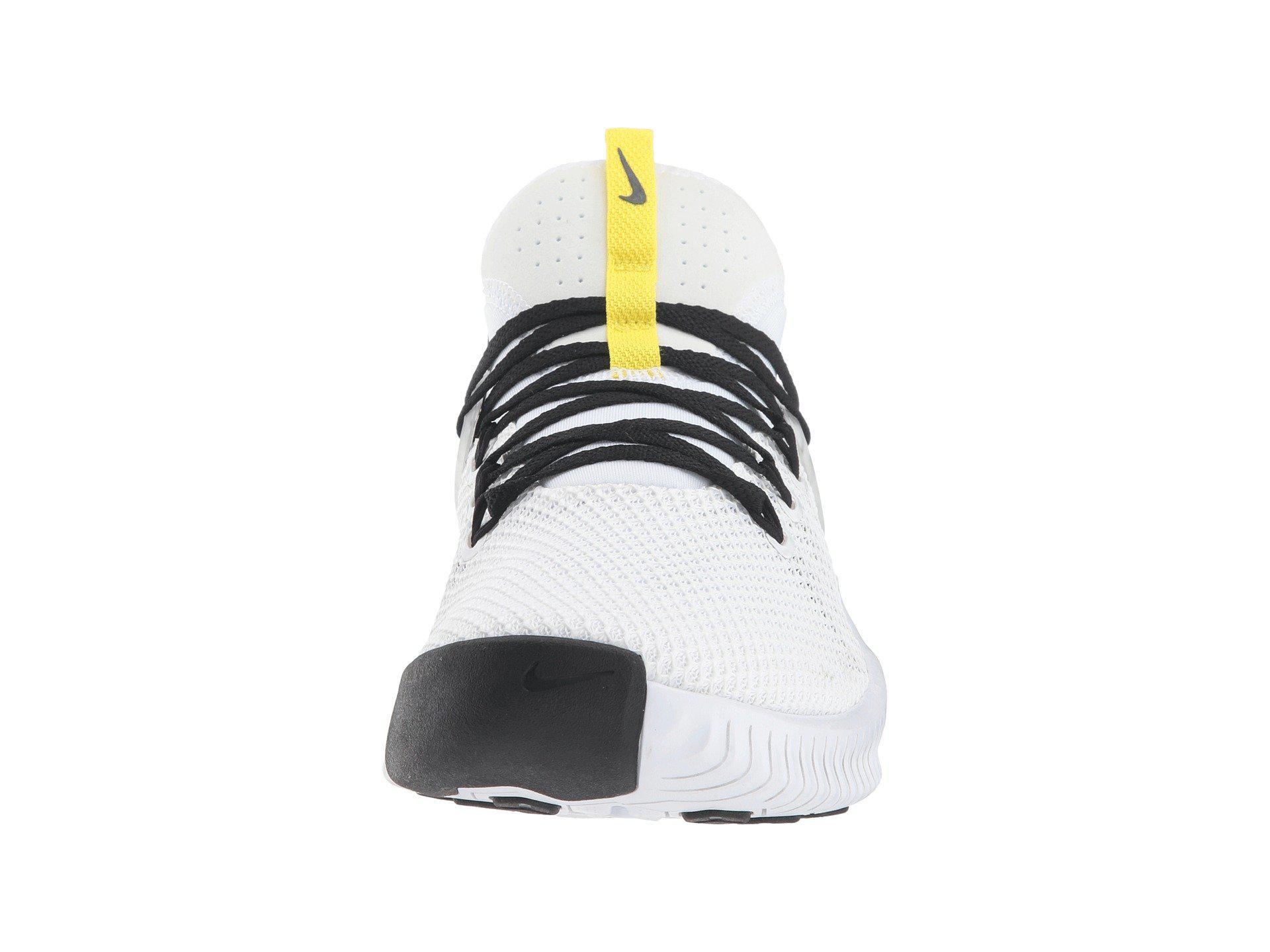 885d20826ea6 Lyst - Nike Metcon Free Jdq (white black dynamic Yellow) Men s Cross ...