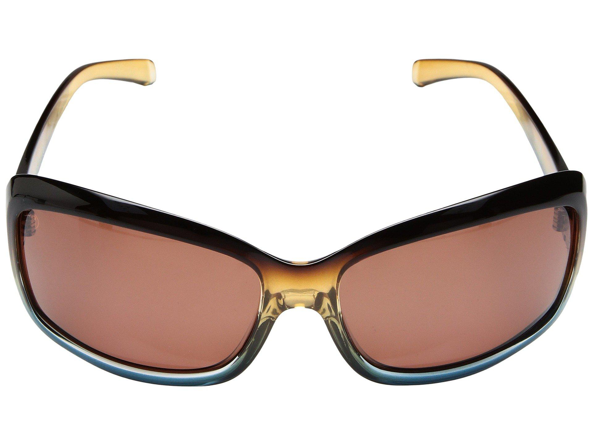 18f7805f65 Lyst - Kaenon Lunada (striped Tort brown 12 Polarized Gold Mirror ...