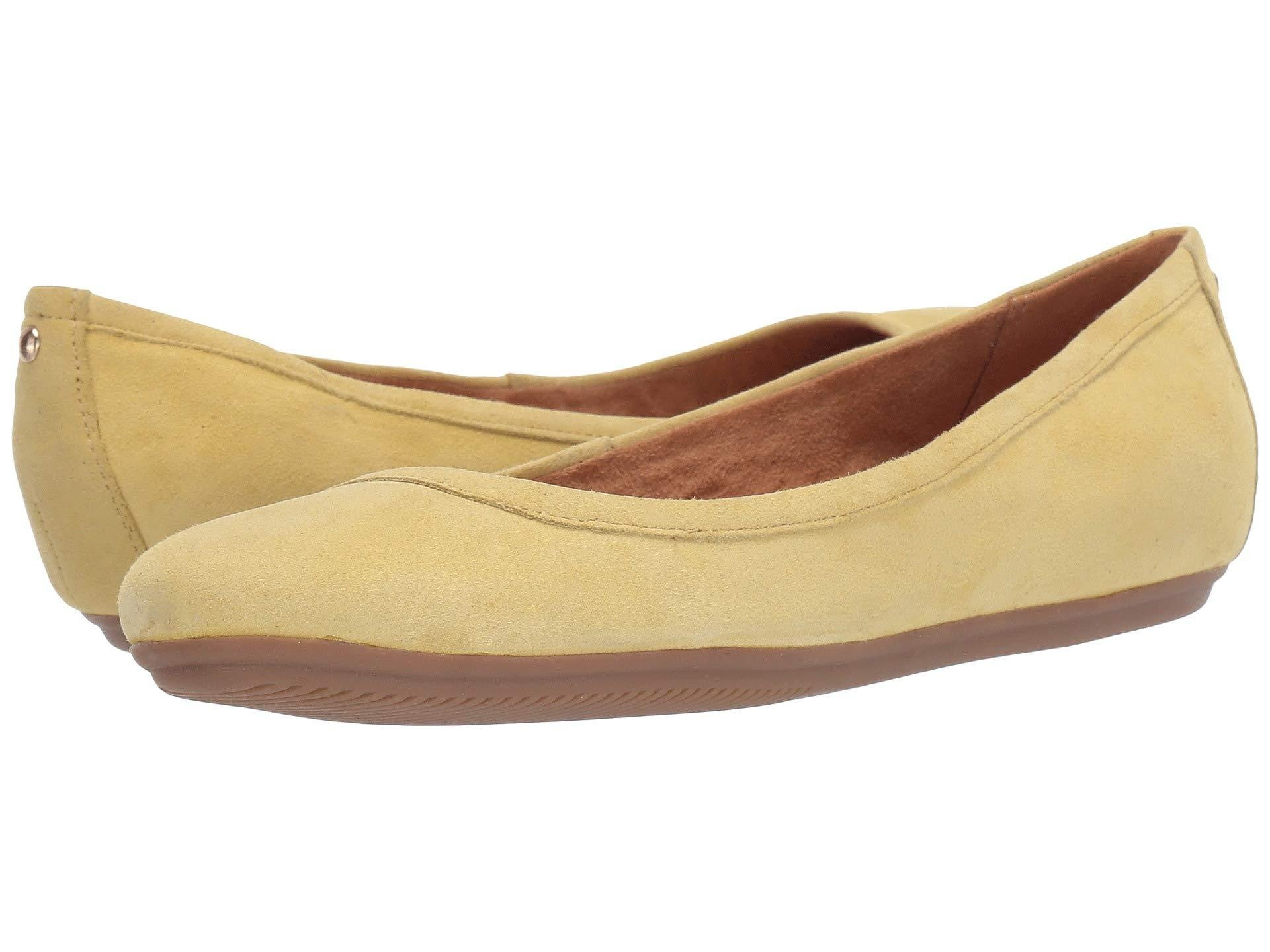 ca70cf746c00 Lyst - Naturalizer Brittany (black Suede) Women s Flat Shoes in Natural