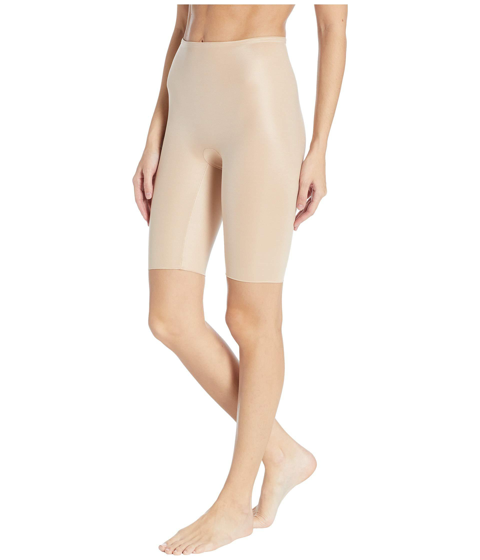 87e641b3f1d Lyst - Spanx Power Conceal-her Extended Length Shorts (very Black) Women s  Underwear in Natural