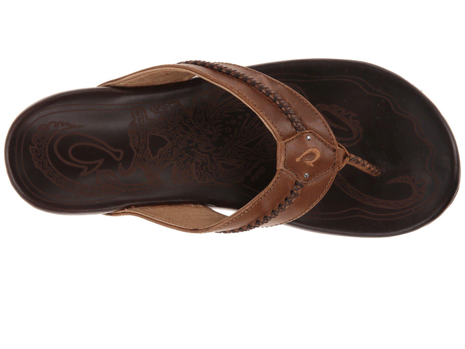 fedd2b0b405ae Olukai - Brown Mea Ola (terra dark Wood) Men s Sandals for Men -. View  fullscreen