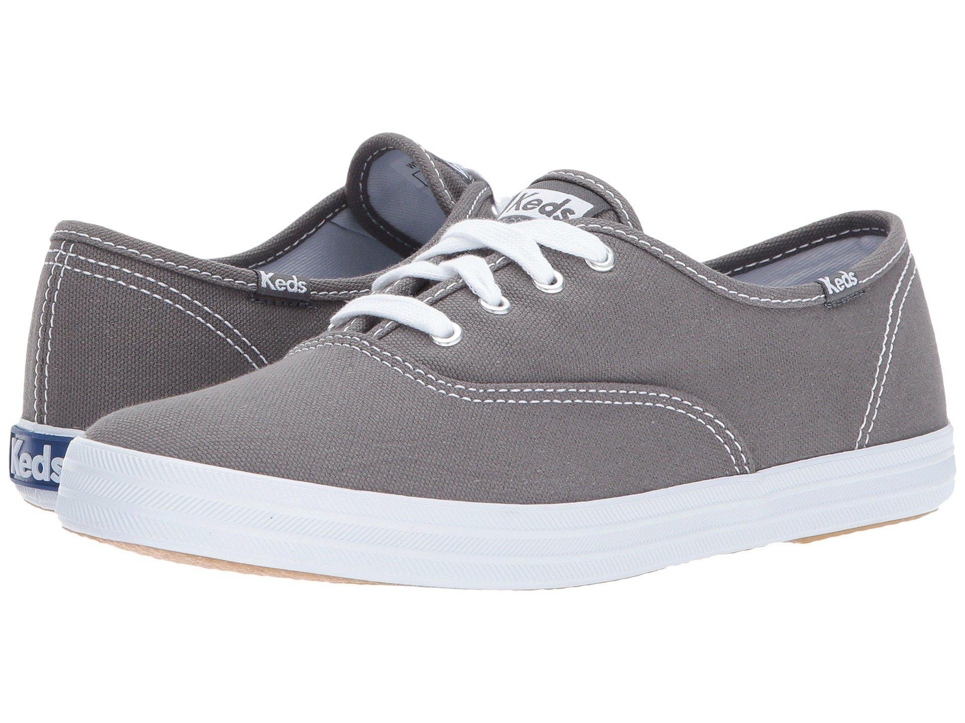 de997d9db97 Keds - Gray Champion-canvas Cvo (graphite) Women s Lace Up Casual Shoes  for. View fullscreen