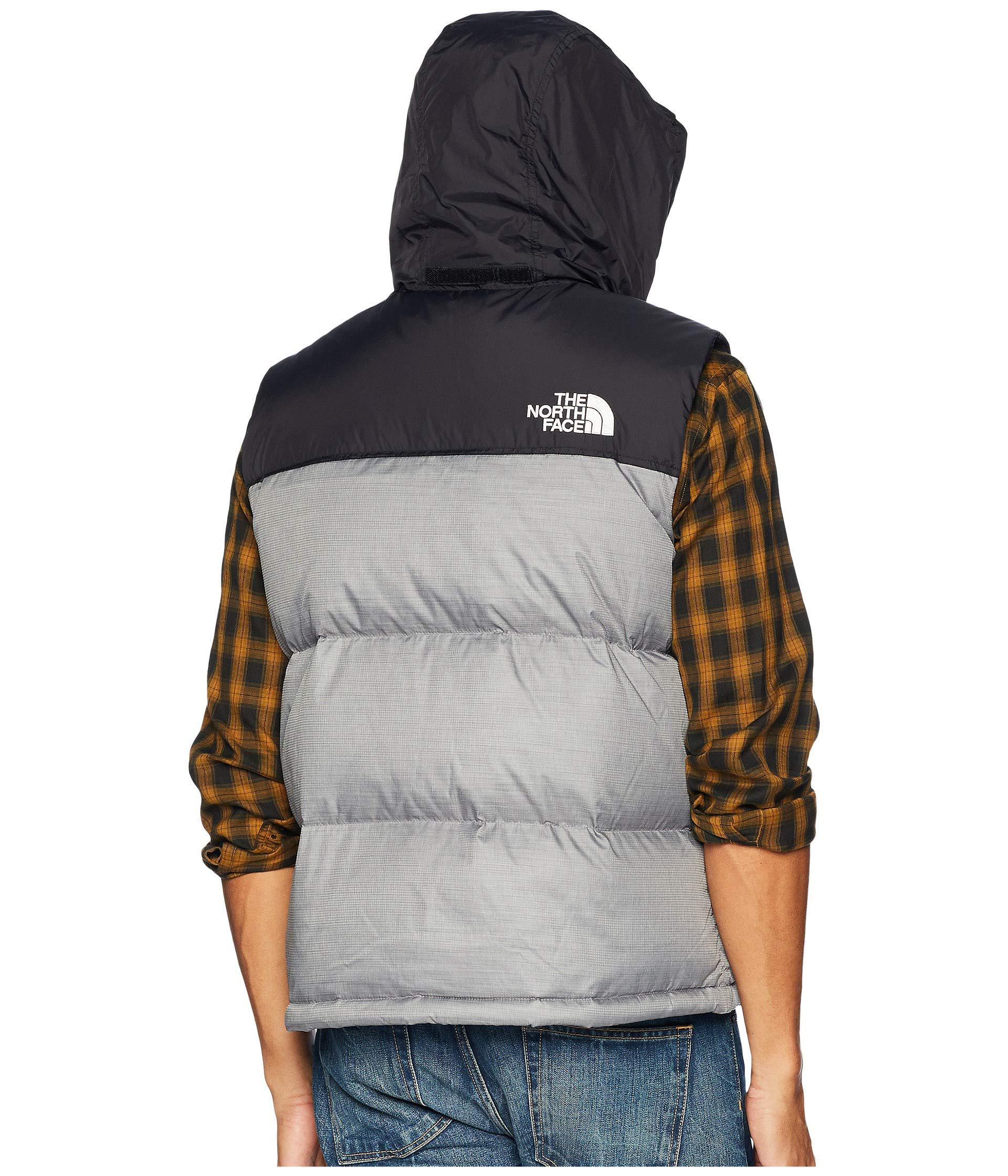 51cdd8fdc3 The North Face - Gray 1996 Retro Nuptse Vest (aztec Blue) Men s Vest for.  View fullscreen