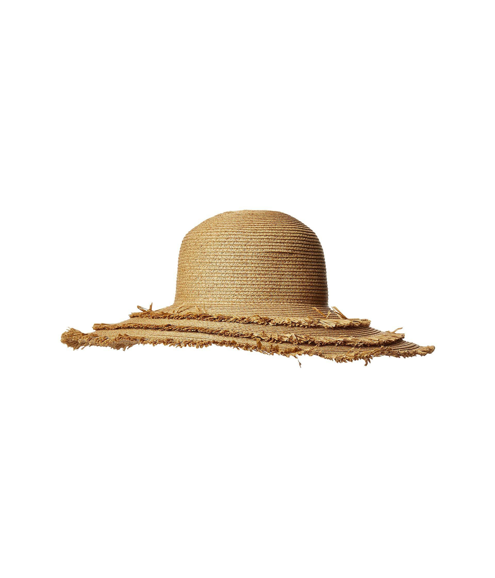 e2d71d6991828 San Diego Hat Company. Women s Ubl6820 - Ultrabraid Floppy With Fray Edges ( natural) Caps