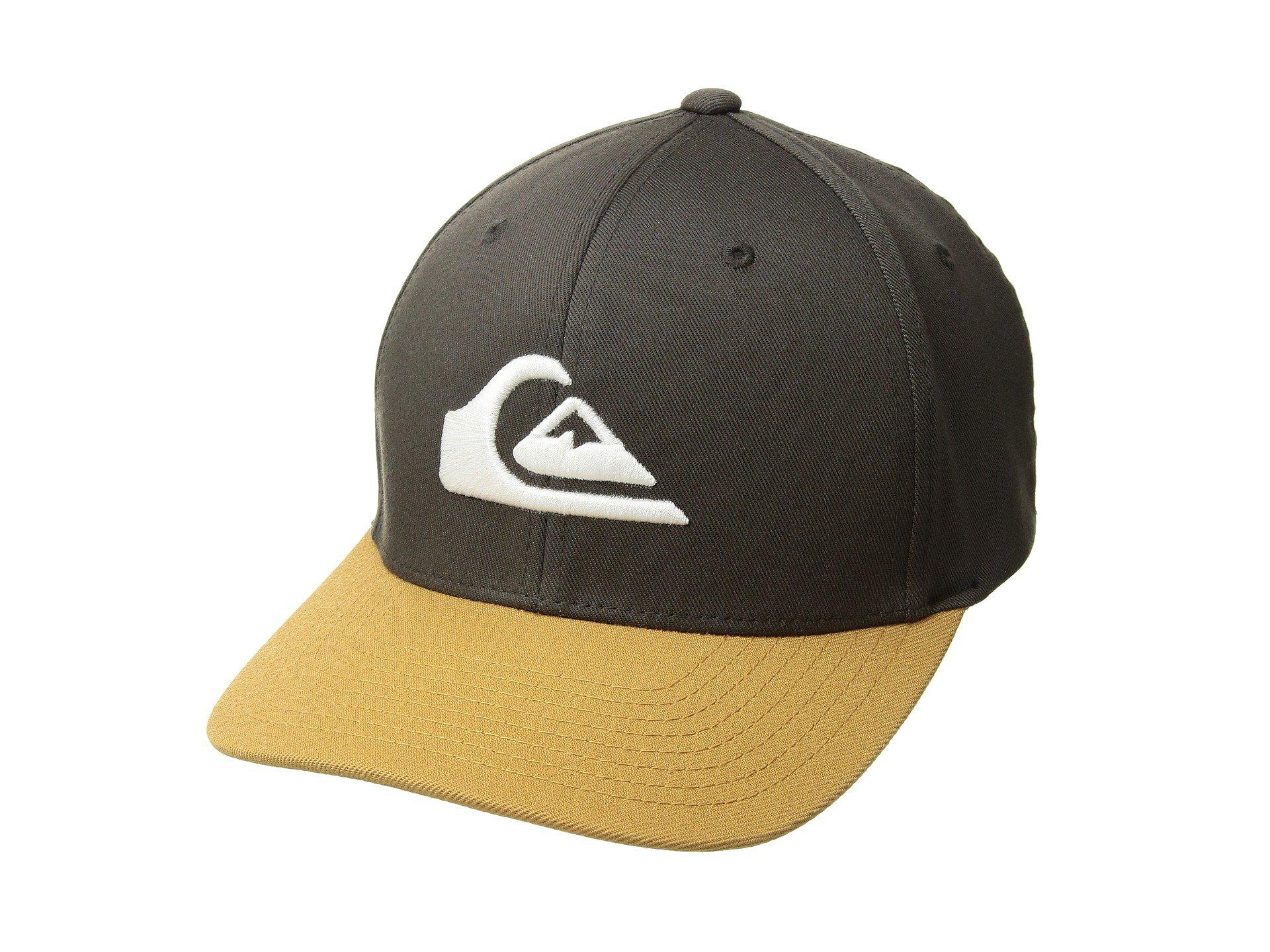 brand new 448d2 8d2f6 Quiksilver Mountain And Wave Hat (raven) Caps for Men - Lyst